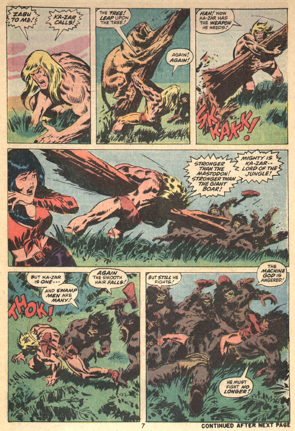 Astonishing Tales (1970) issue 14 - Page 7