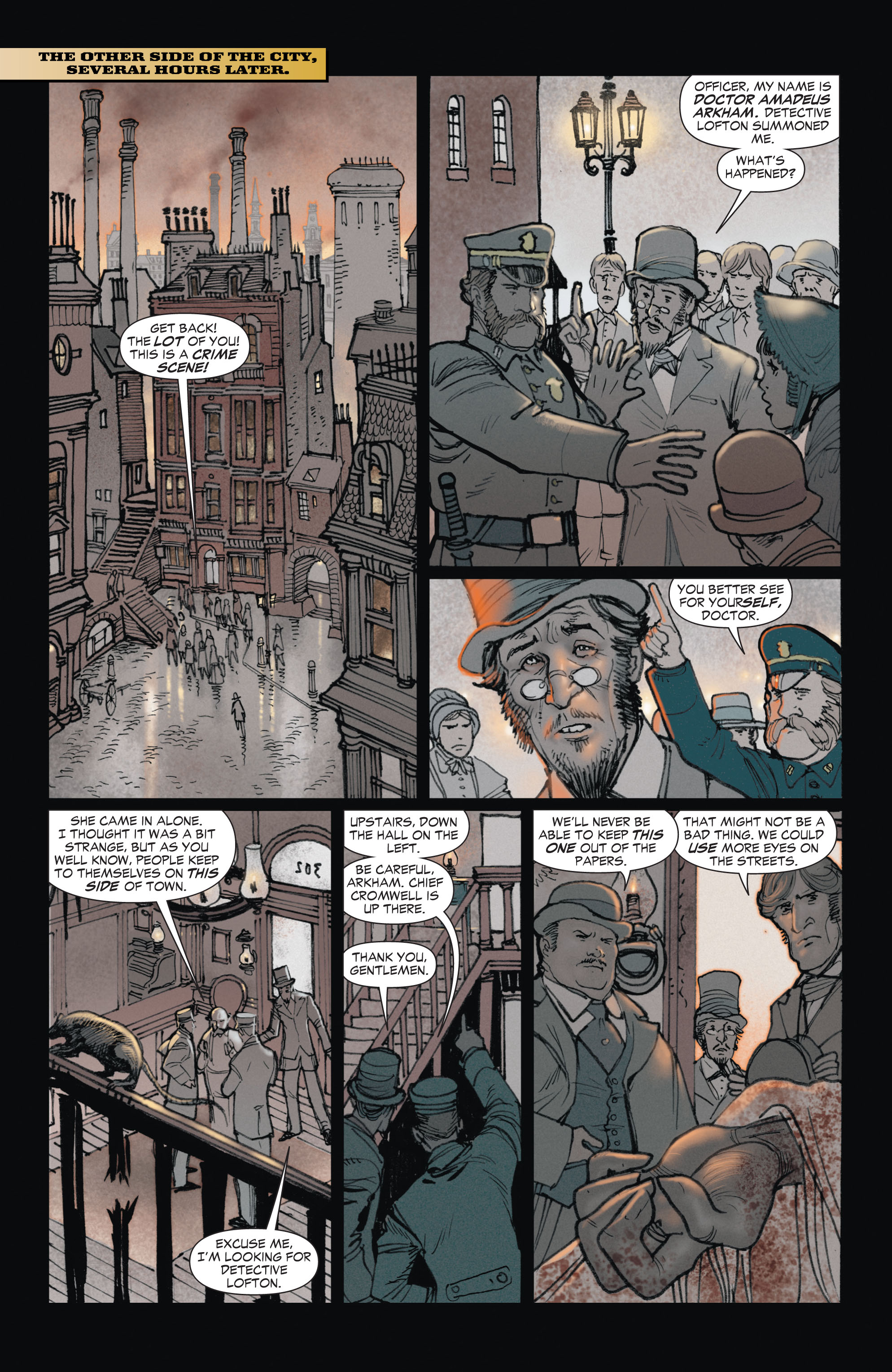 Read online All-Star Western (2011) comic -  Issue #1 - 6