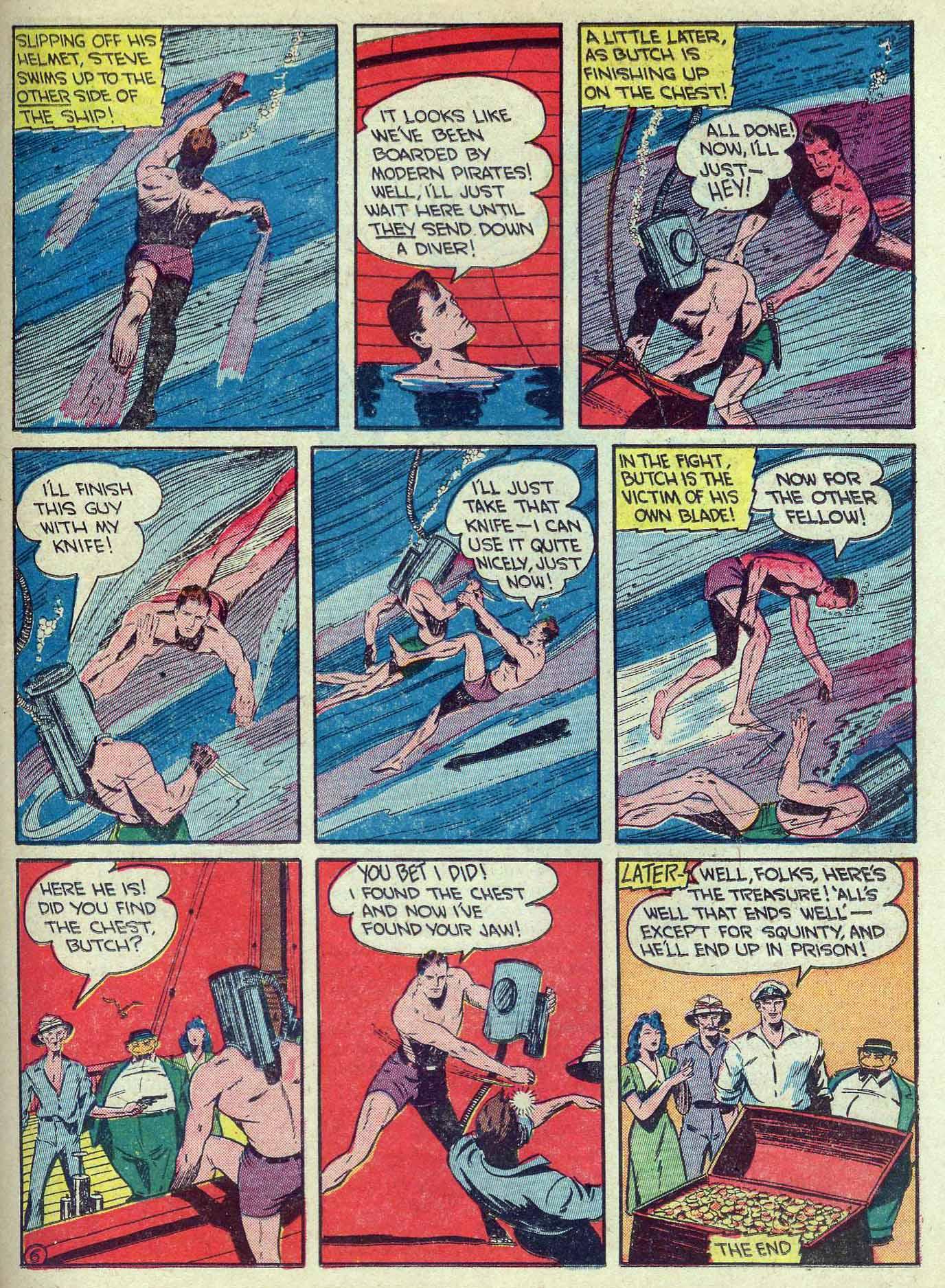Read online Adventure Comics (1938) comic -  Issue #70 - 45