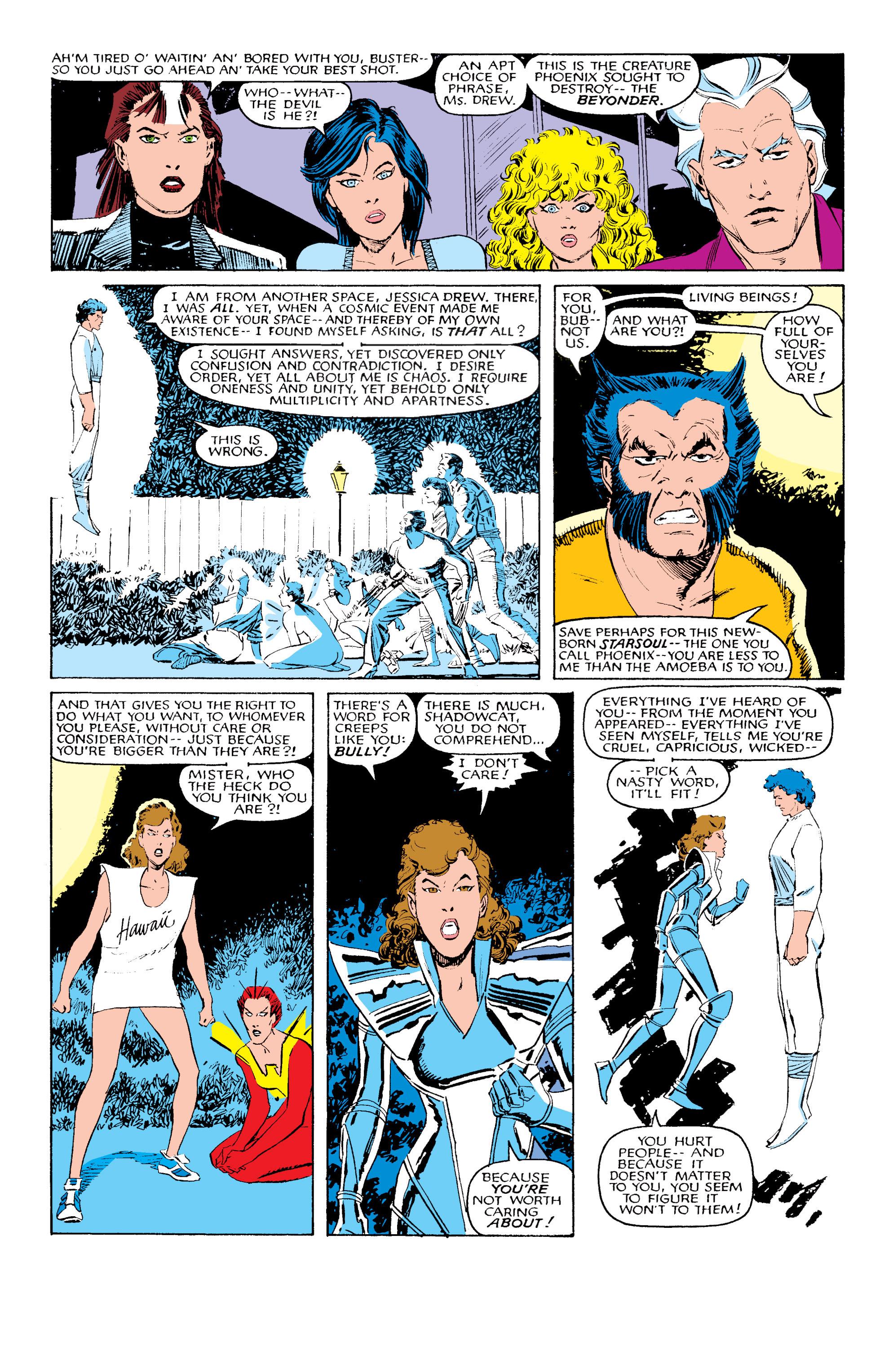 Read online Uncanny X-Men (1963) comic -  Issue #203 - 19