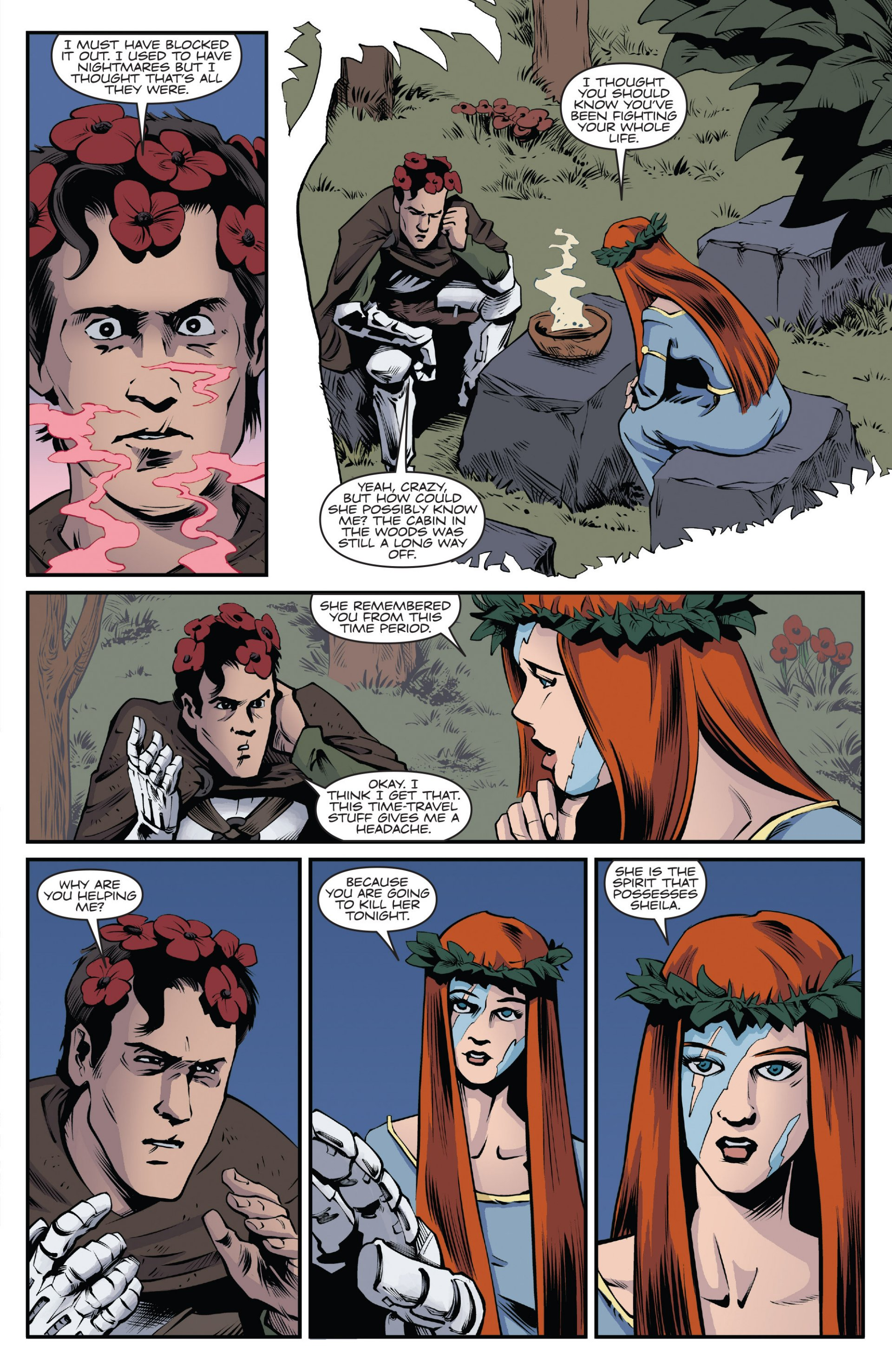 Read online Ash and the Army of Darkness comic -  Issue #7 - 9