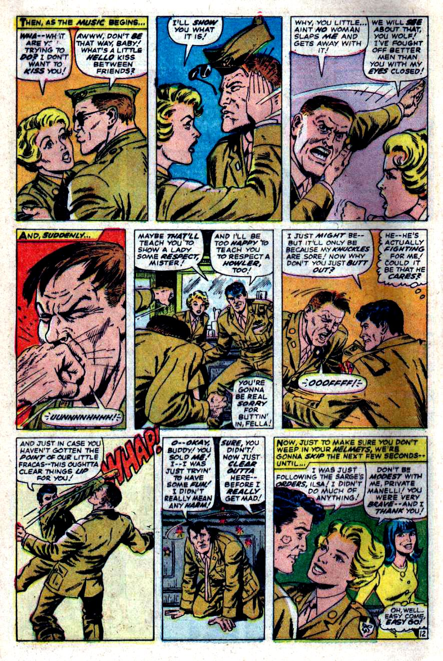 Read online Sgt. Fury comic -  Issue #47 - 16
