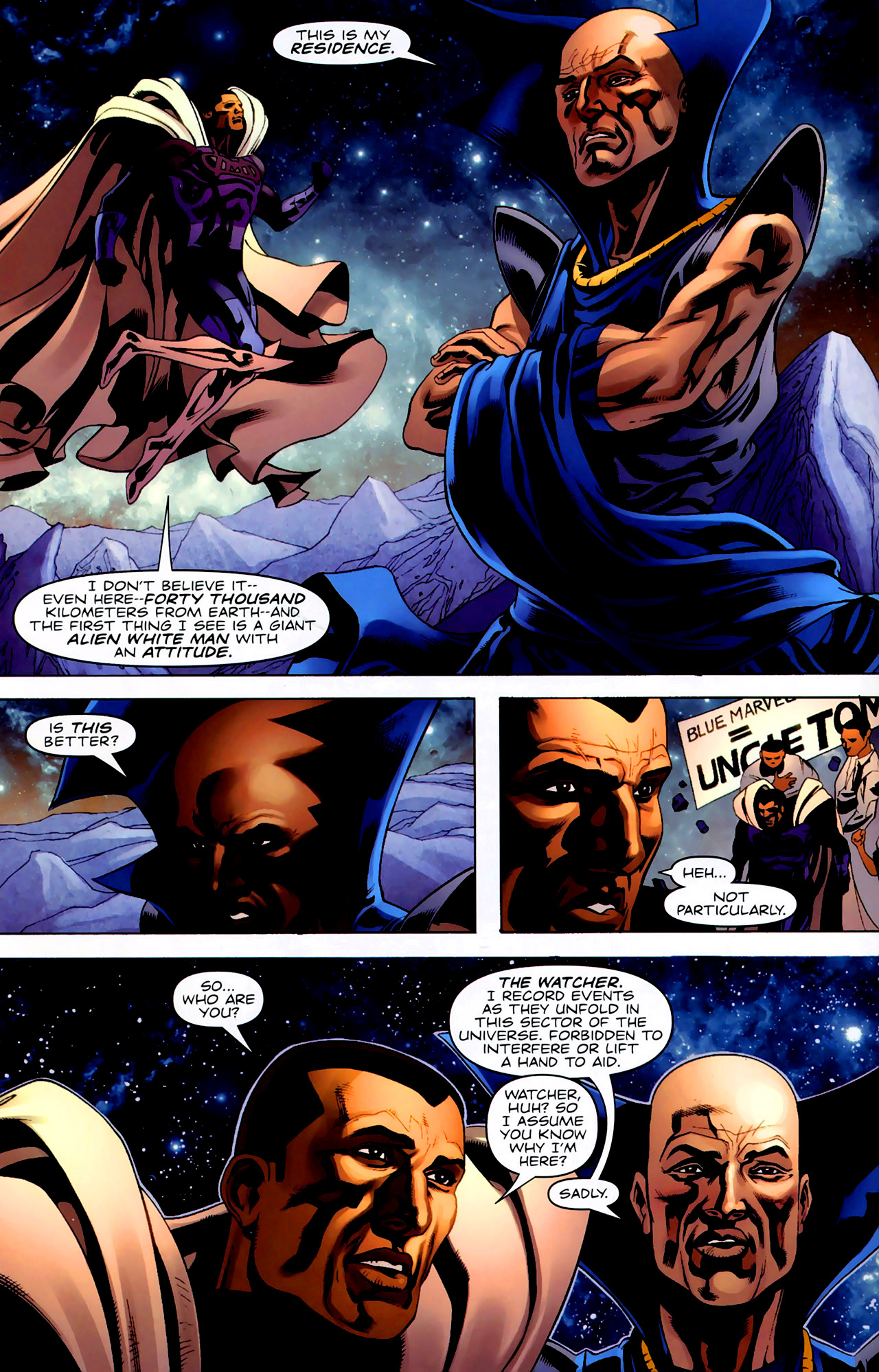Read online Adam: Legend of the Blue Marvel comic -  Issue #3 - 14