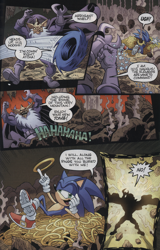 Read online Sonic the Hedgehog Free Comic Book Day Edition comic -  Issue # Special 5 - 21