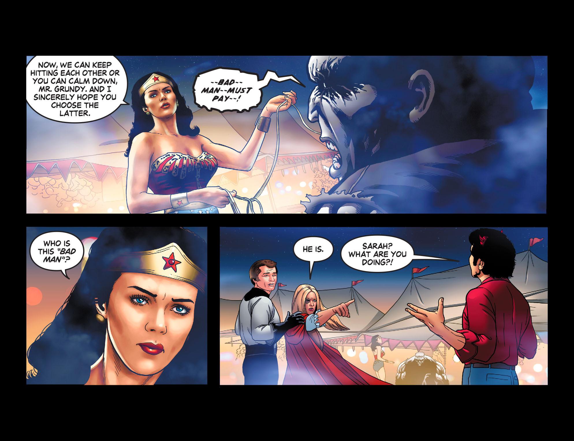Read online Wonder Woman '77 [I] comic -  Issue #13 - 16