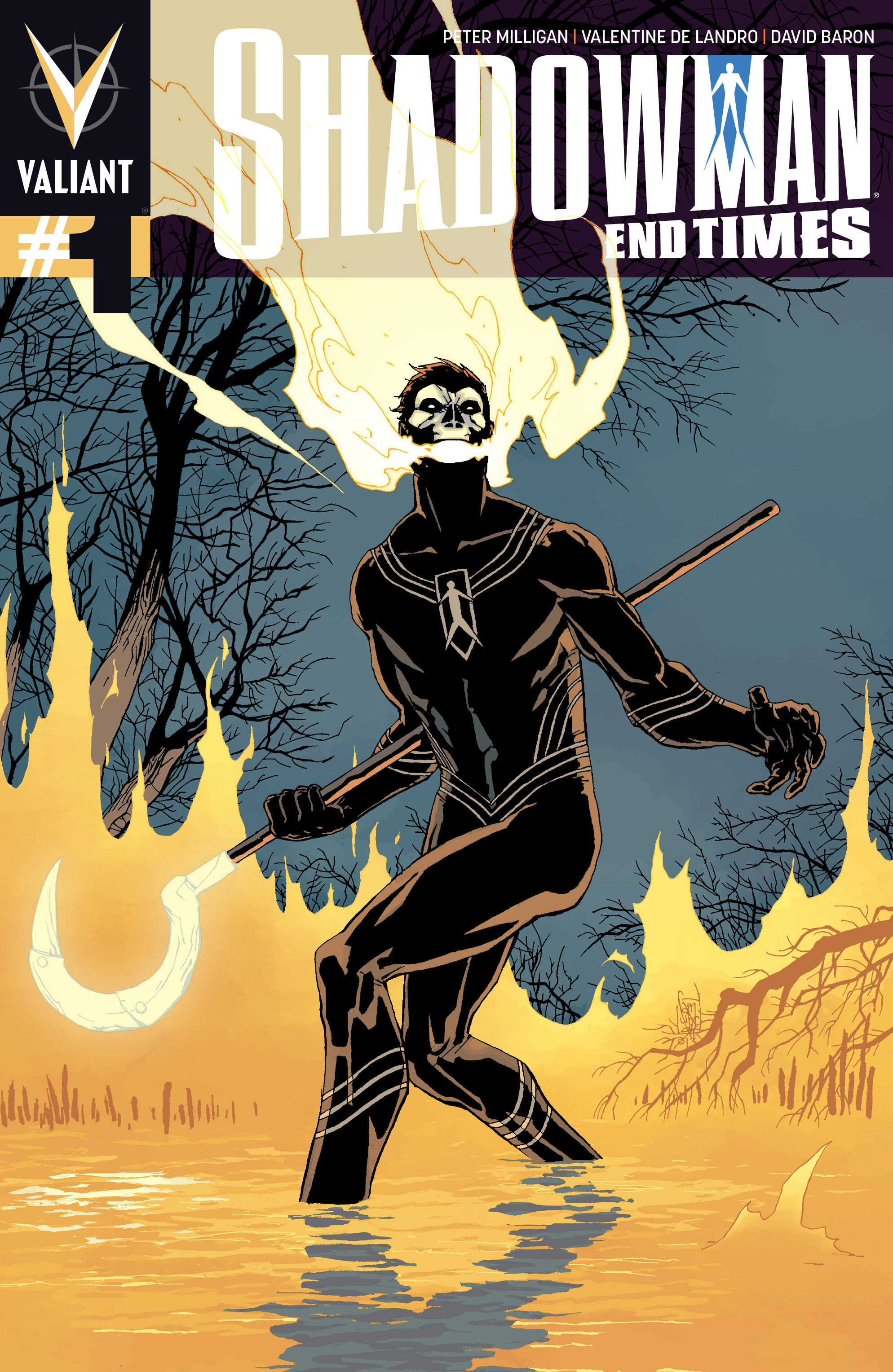 Read online Shadowman: End Times comic -  Issue #1 - 1