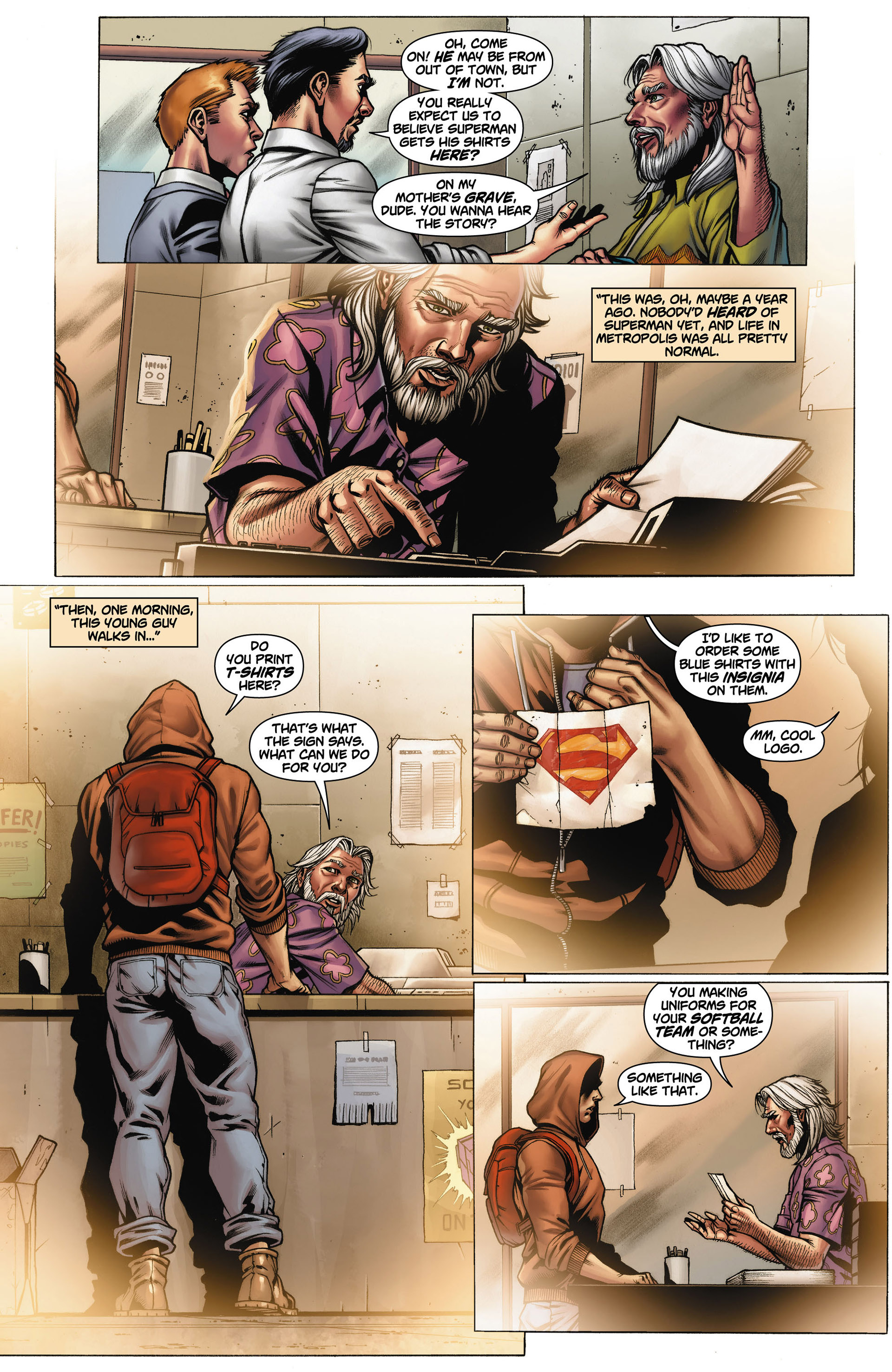 Read online Action Comics (2011) comic -  Issue #11 - 23