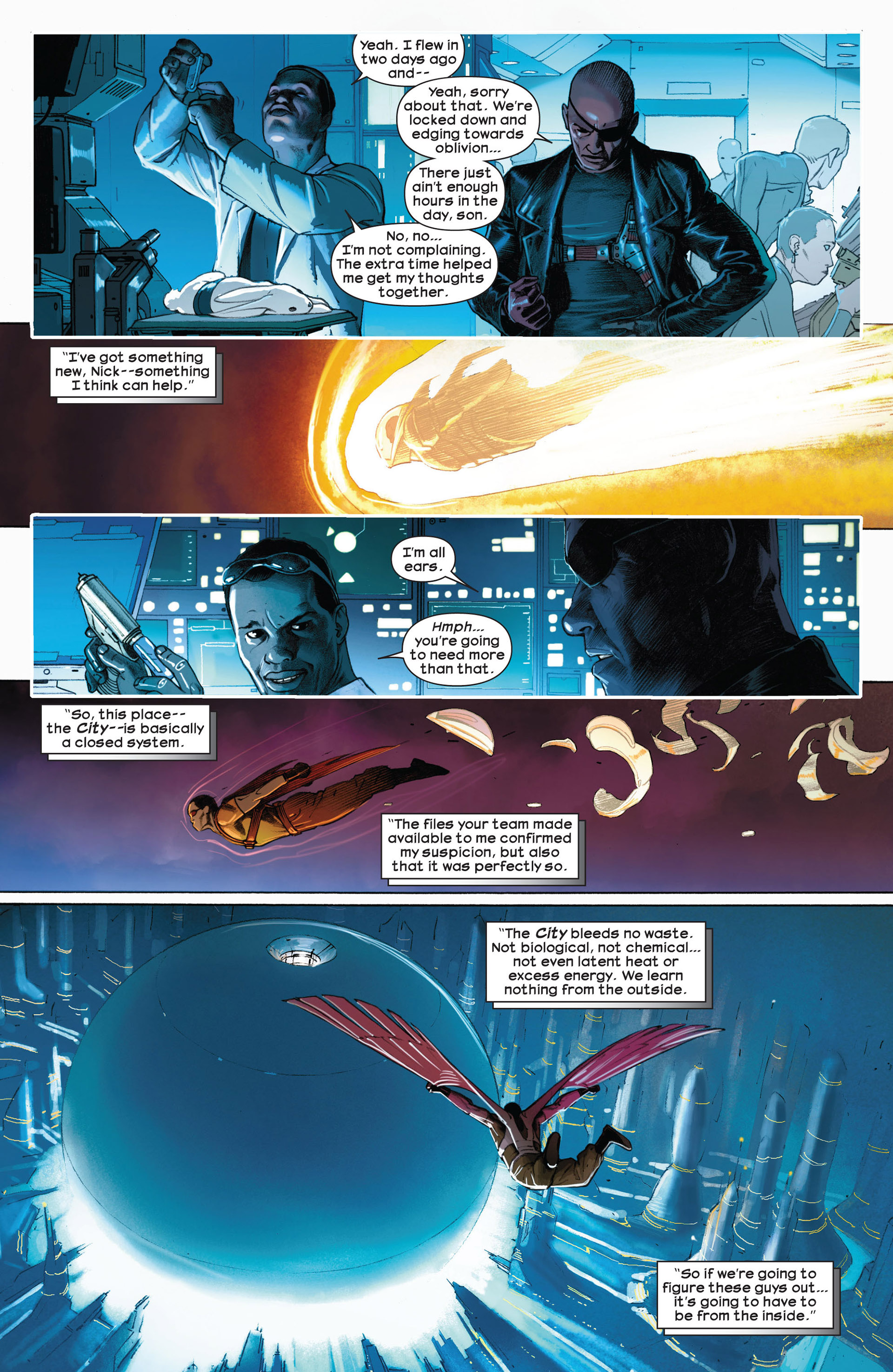 Read online Ultimate Comics Ultimates comic -  Issue #5 - 17