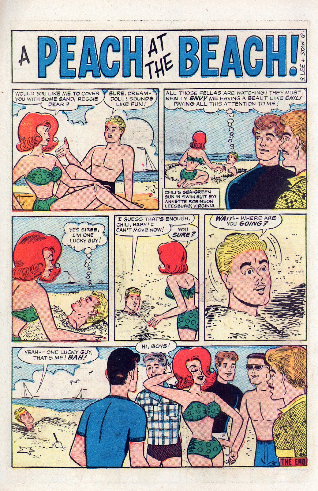 Read online Millie the Model comic -  Issue # Annual 2 - 56
