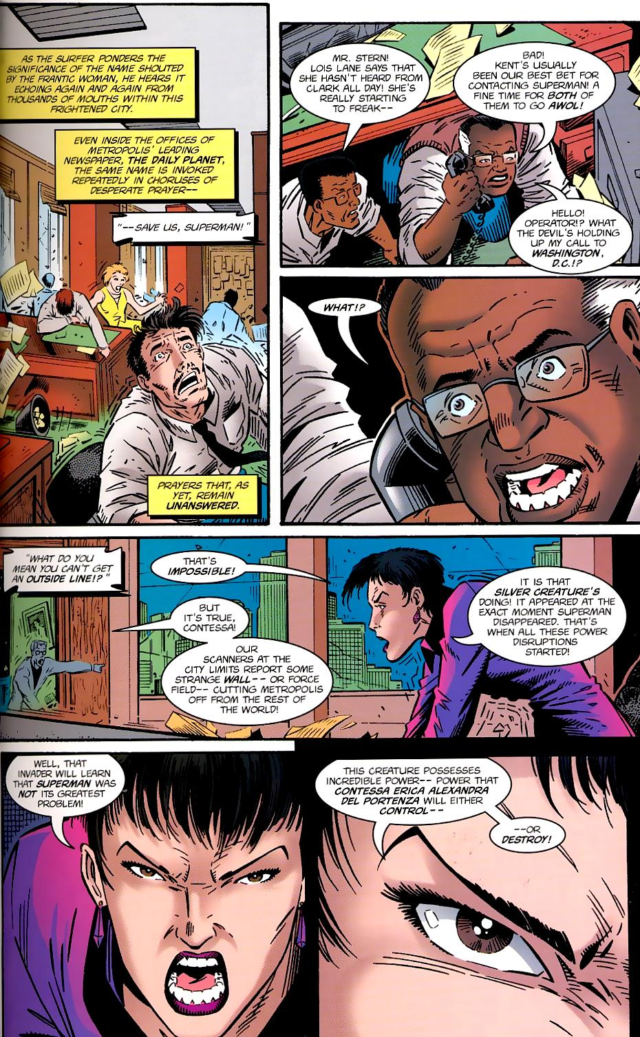 Read online Silver Surfer/Superman comic -  Issue # Full - 15