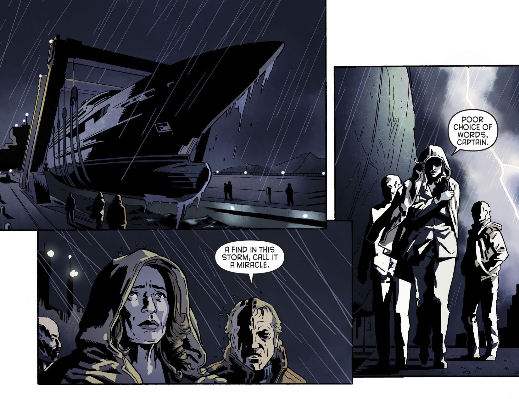 Read online Arrow [II] comic -  Issue #5 - 5