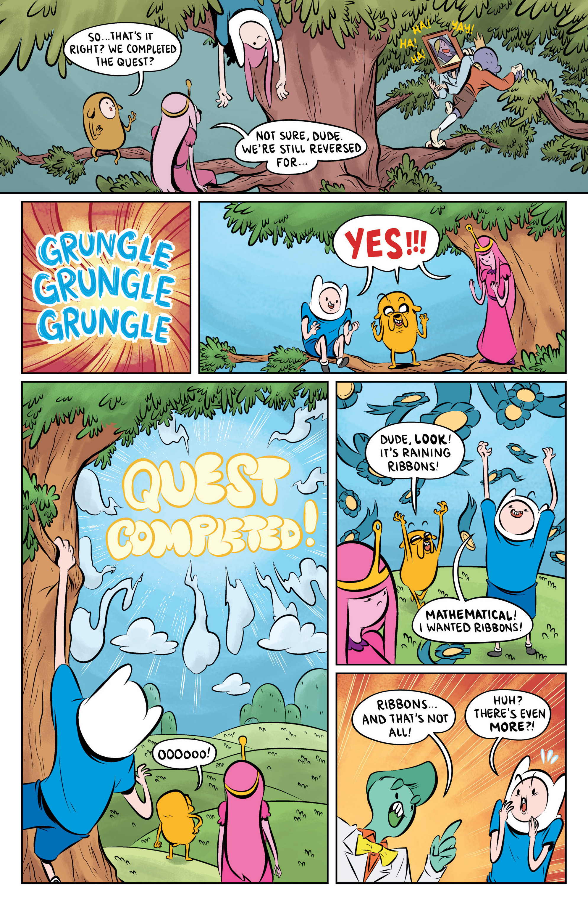 Read online Adventure Time: The Flip Side comic -  Issue #6 - 22