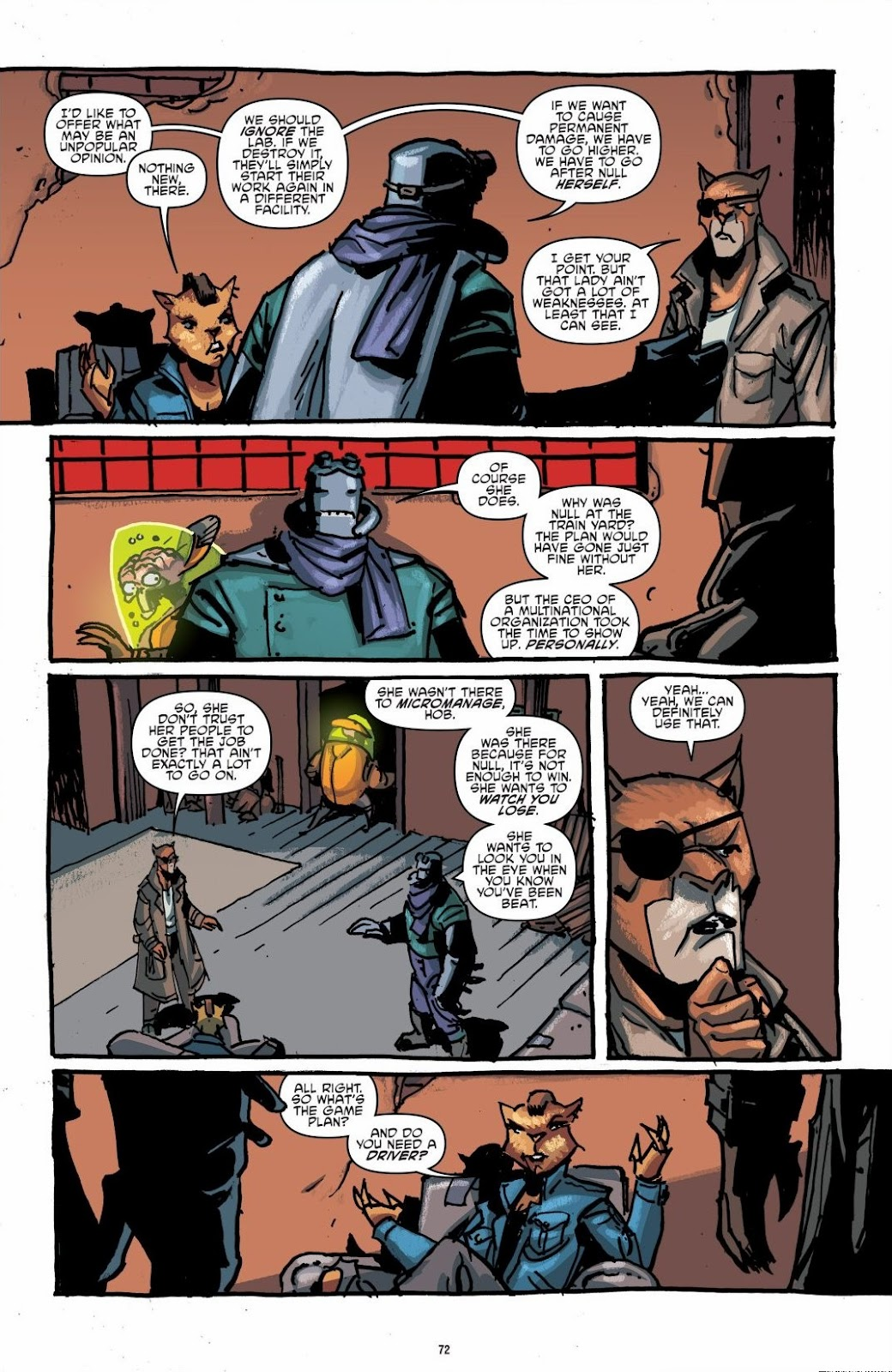 Read online Teenage Mutant Ninja Turtles: The IDW Collection comic -  Issue # TPB 6 (Part 1) - 71