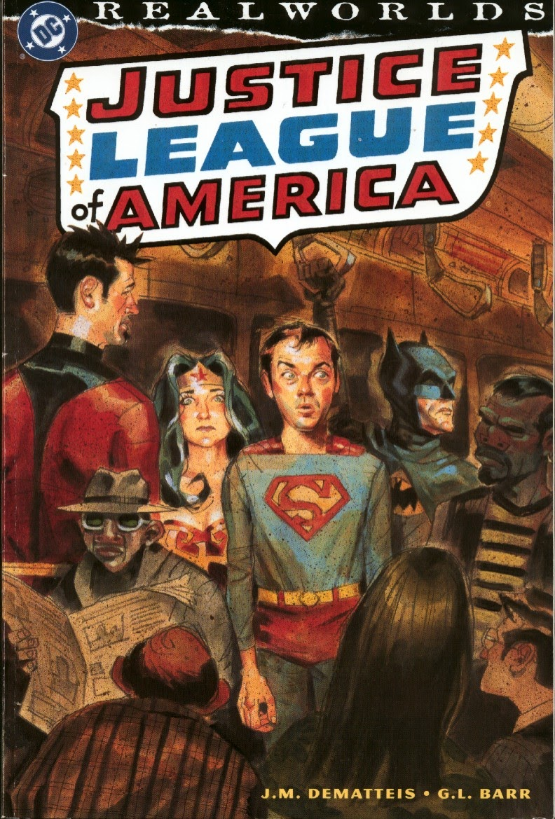 Realworlds: Justice League of America Full Page 1