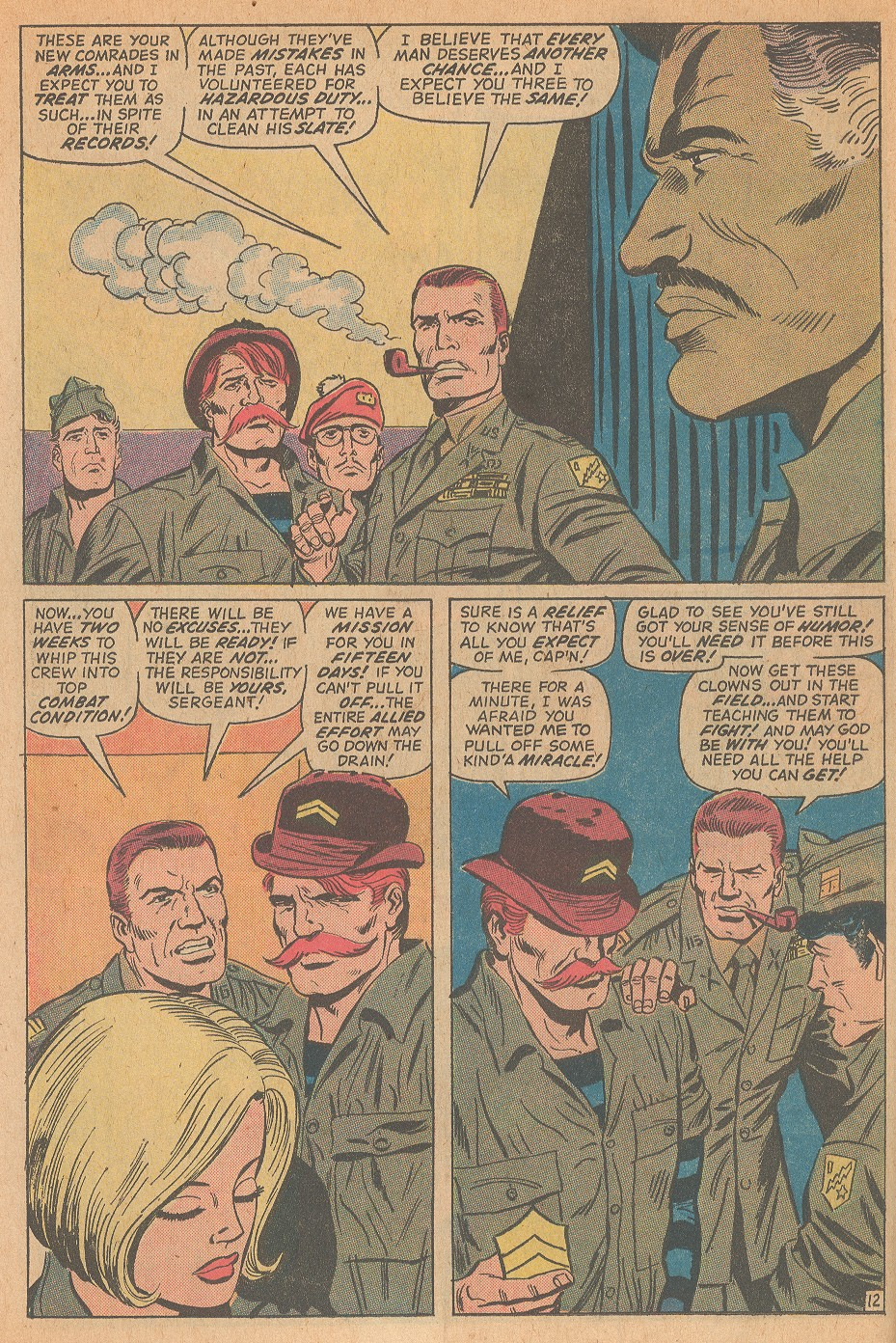 Read online Sgt. Fury comic -  Issue #98 - 18