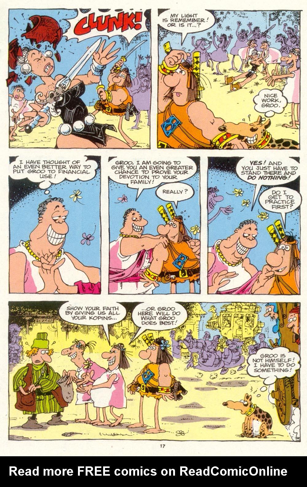 Read online Sergio Aragonés Groo the Wanderer comic -  Issue #89 - 18