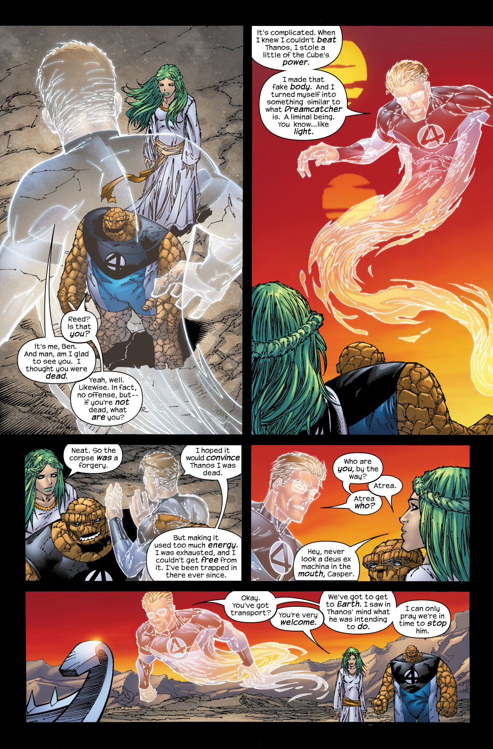Read online Ultimate Fantastic Four (2004) comic -  Issue #53 - 8