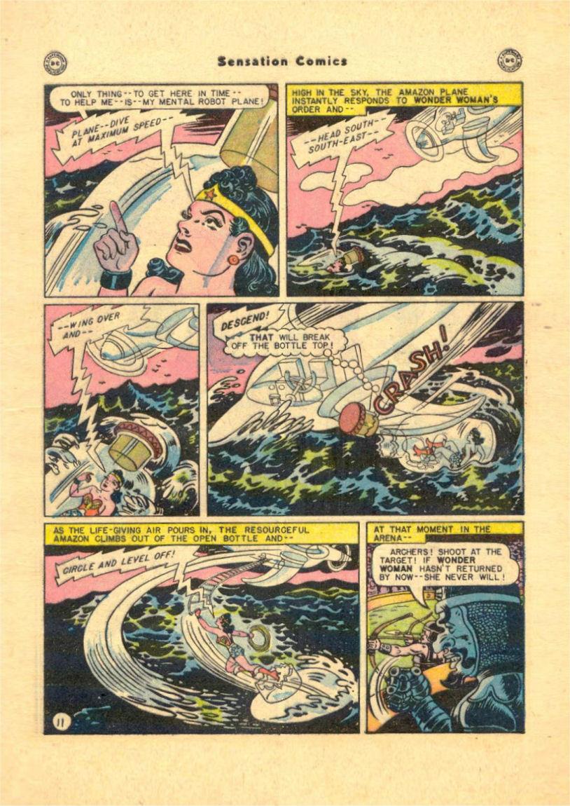Read online Sensation (Mystery) Comics comic -  Issue #84 - 13