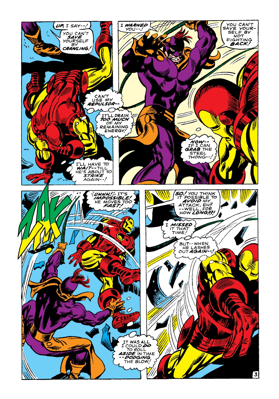 Read online Marvel Masterworks: The Invincible Iron Man comic -  Issue # TPB 4 (Part 2) - 91