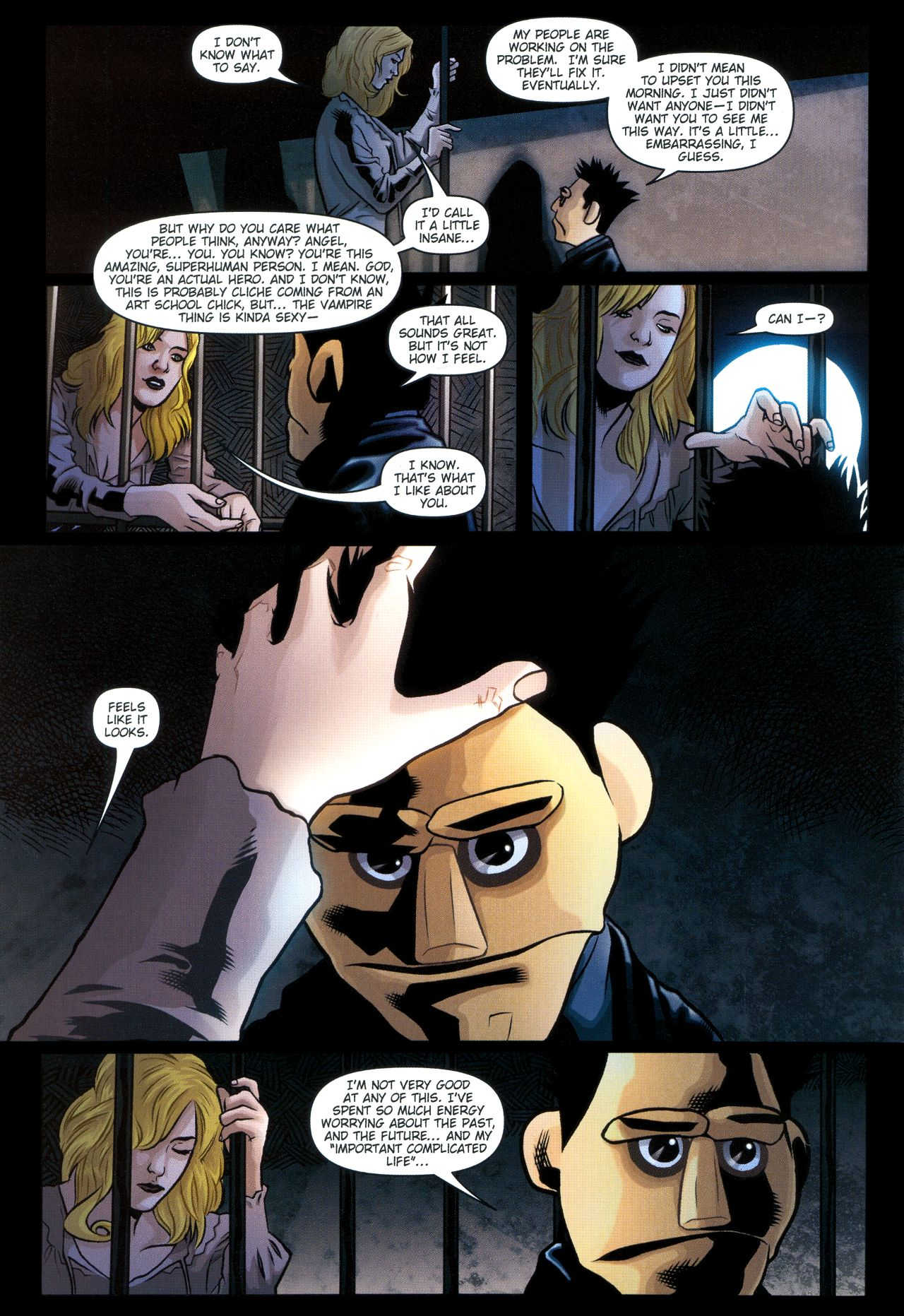 Read online Angel: Smile Time comic -  Issue #2 - 22