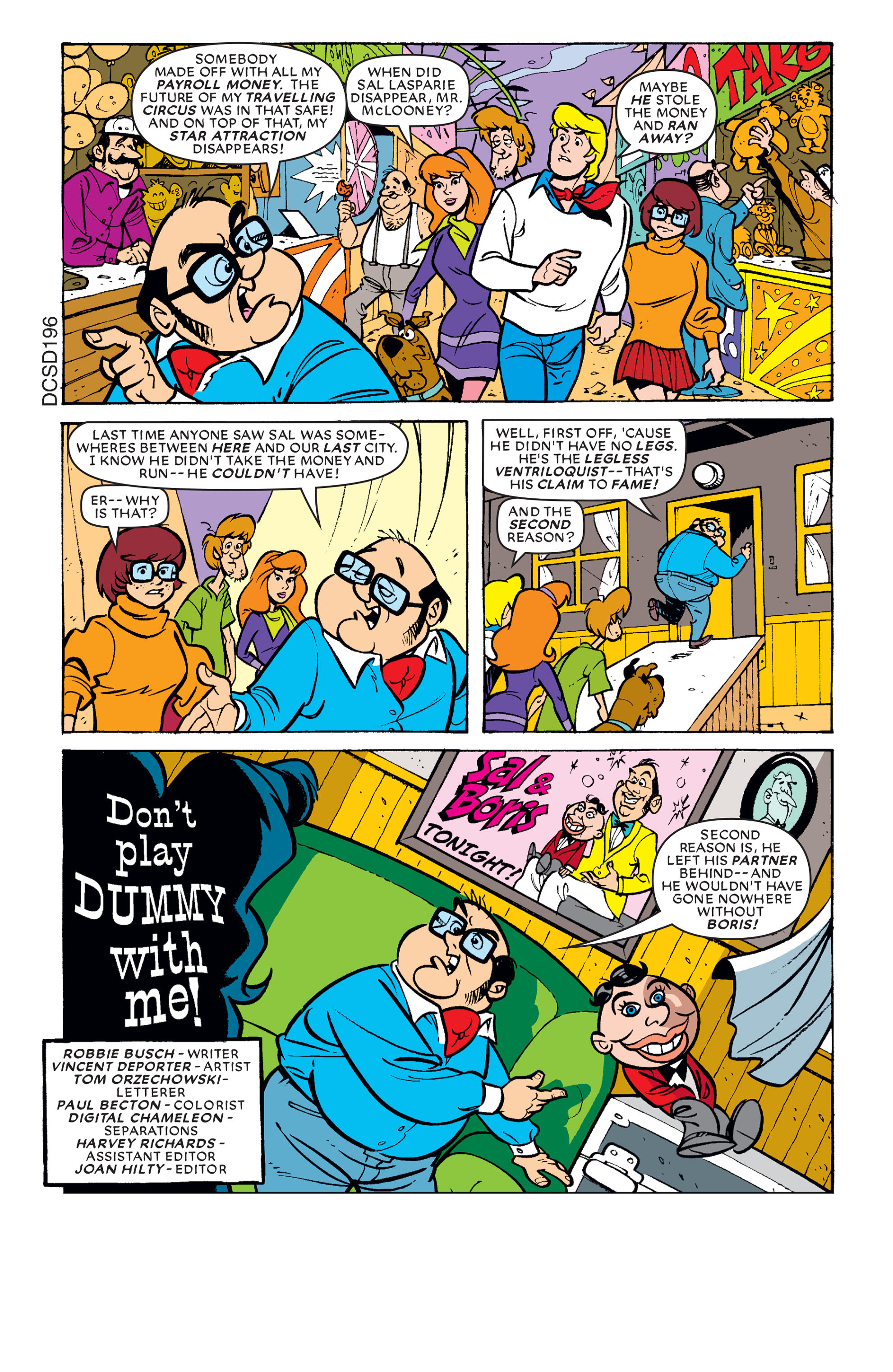 Read online Scooby-Doo (1997) comic -  Issue #66 - 2