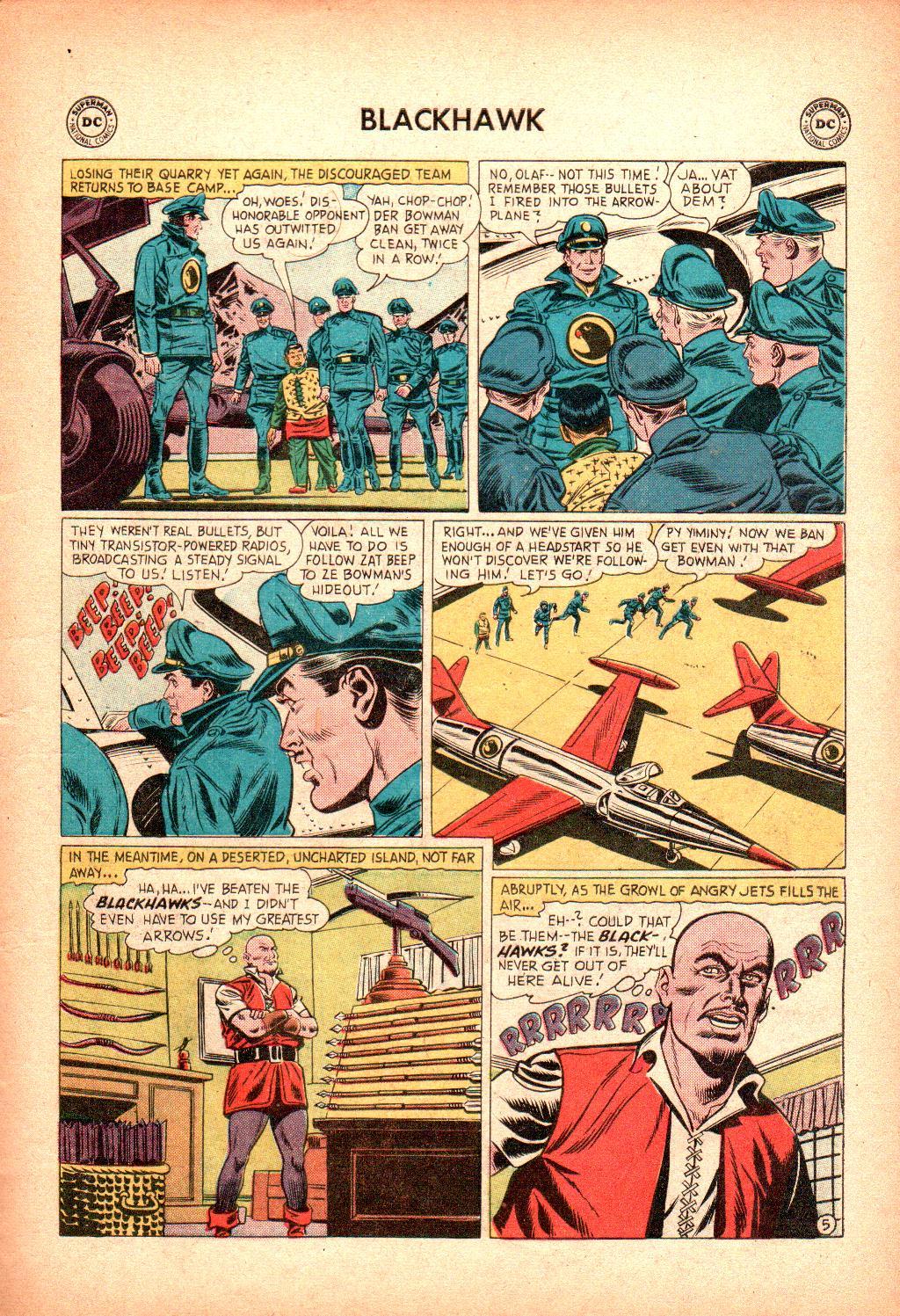 Blackhawk (1957) Issue #128 #21 - English 7