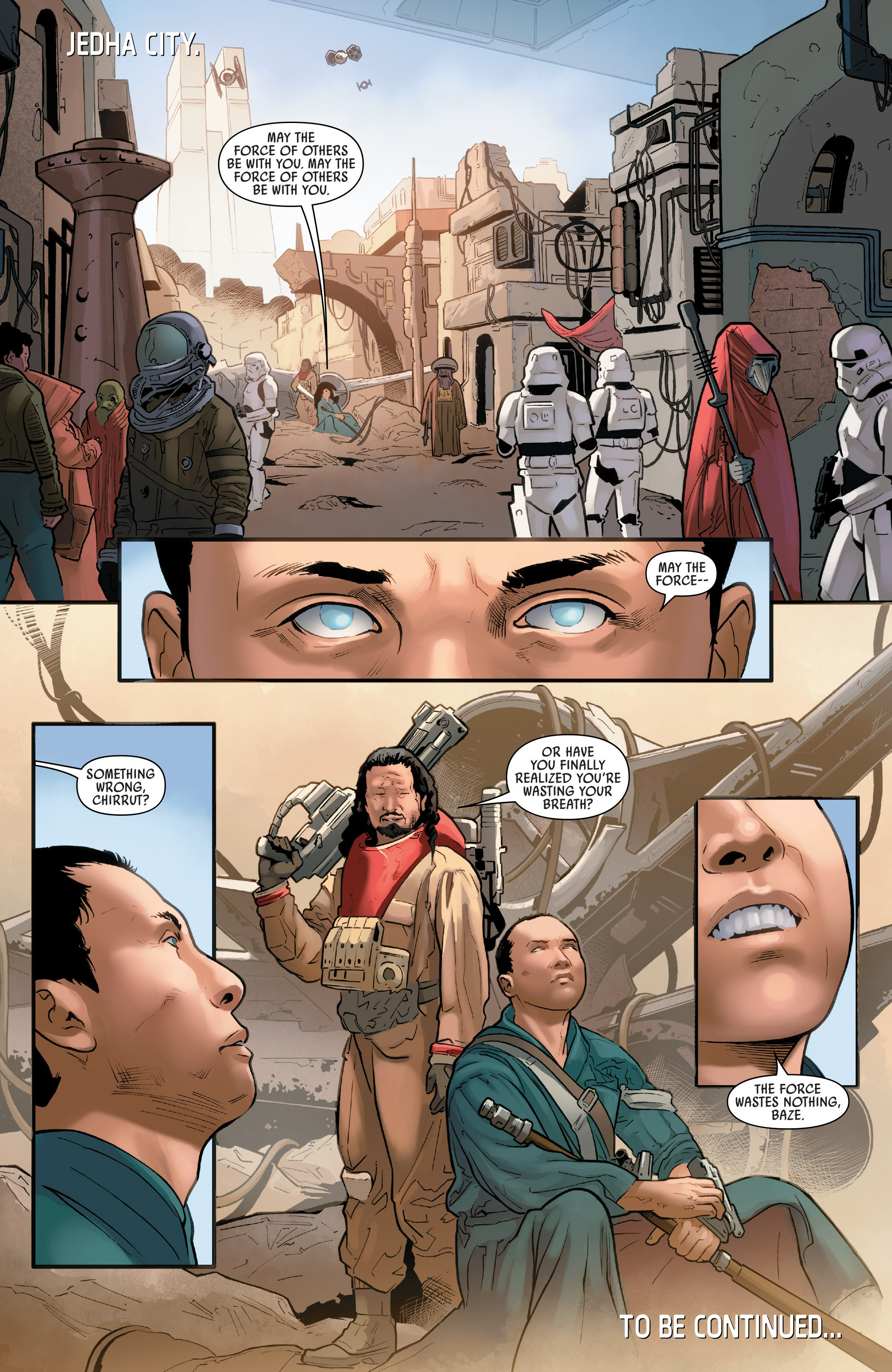 Read online Star Wars: Rogue One Adaptation comic -  Issue #1 - 32