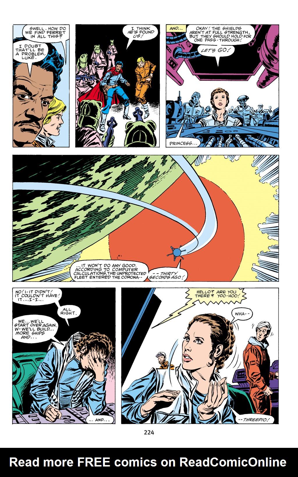 Read online Star Wars Omnibus comic -  Issue # Vol. 16 - 221