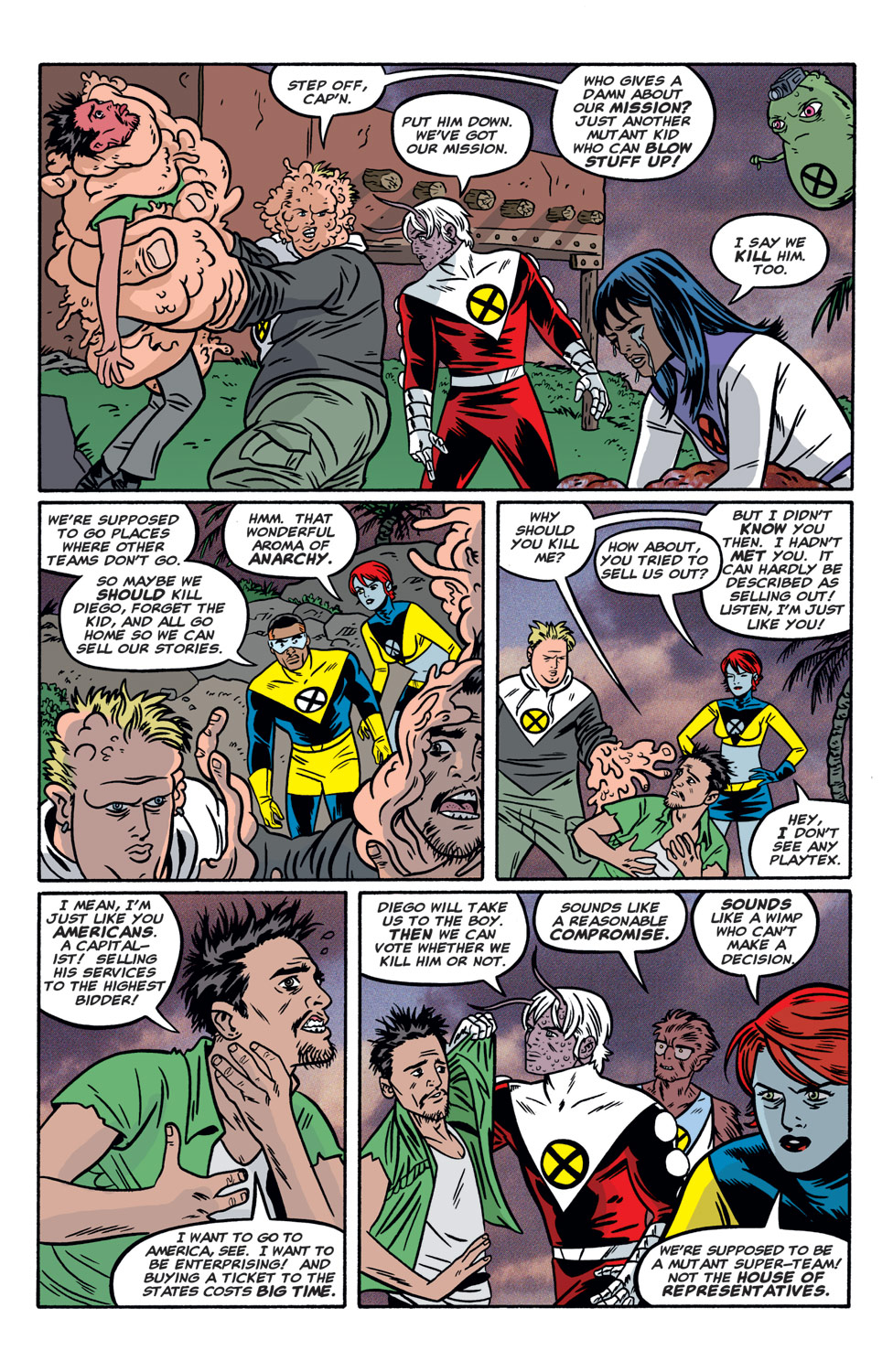 Read online X-Force (1991) comic -  Issue #118 - 18
