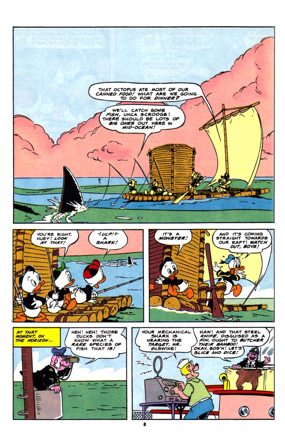 Read online Uncle Scrooge (1953) comic -  Issue #244 - 10
