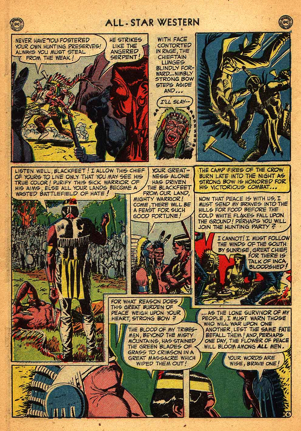 Read online All-Star Western (1951) comic -  Issue #58 - 44
