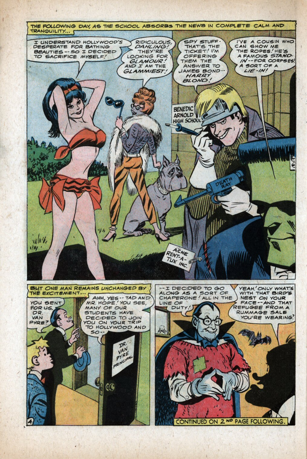 The Adventures of Bob Hope issue 105 - Page 6