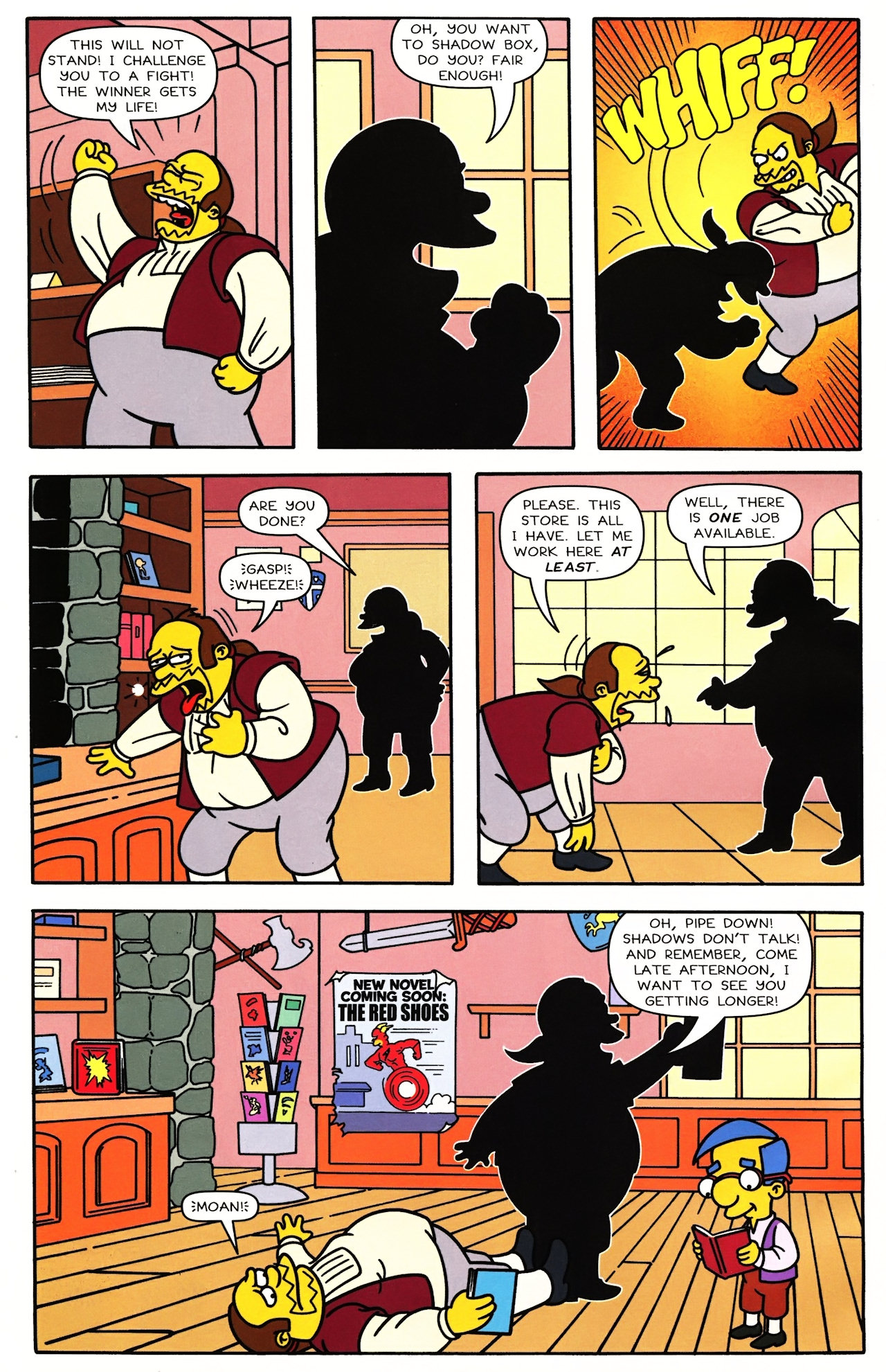 Read online Simpsons Comics comic -  Issue #148 - 18