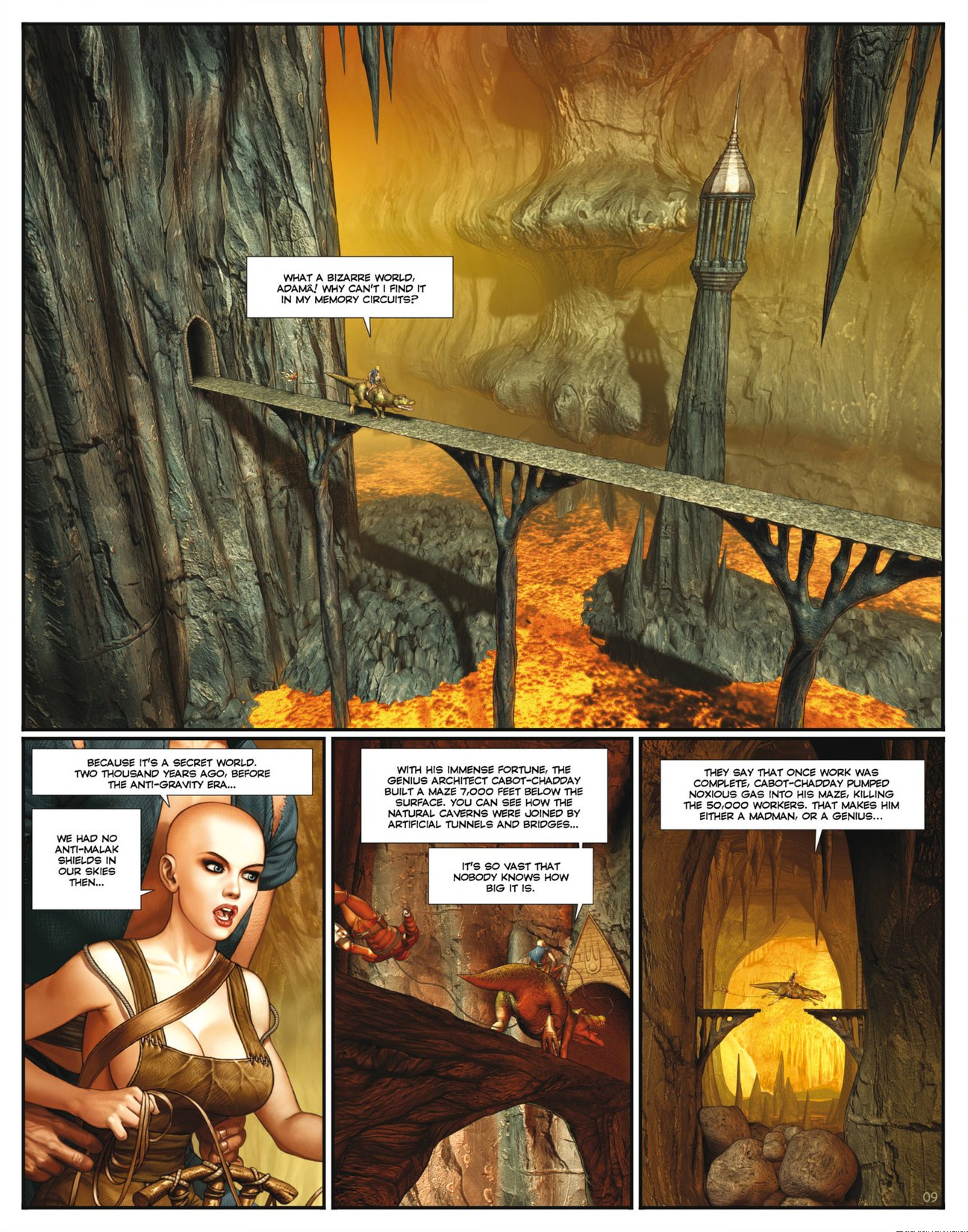 Read online Megalex (2014) comic -  Issue #2 - 11