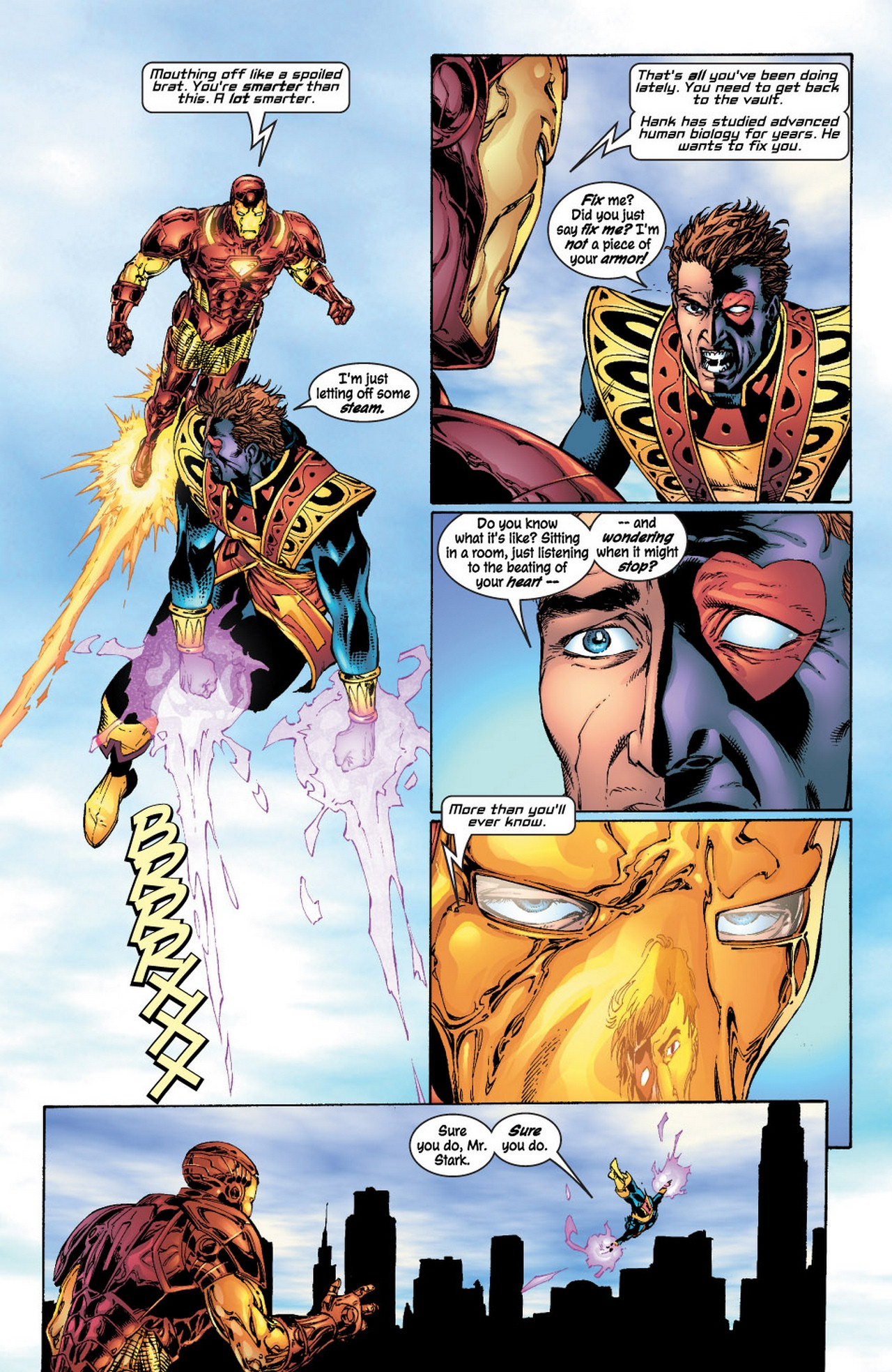 Read online Avengers (1998) comic -  Issue #62 - 17