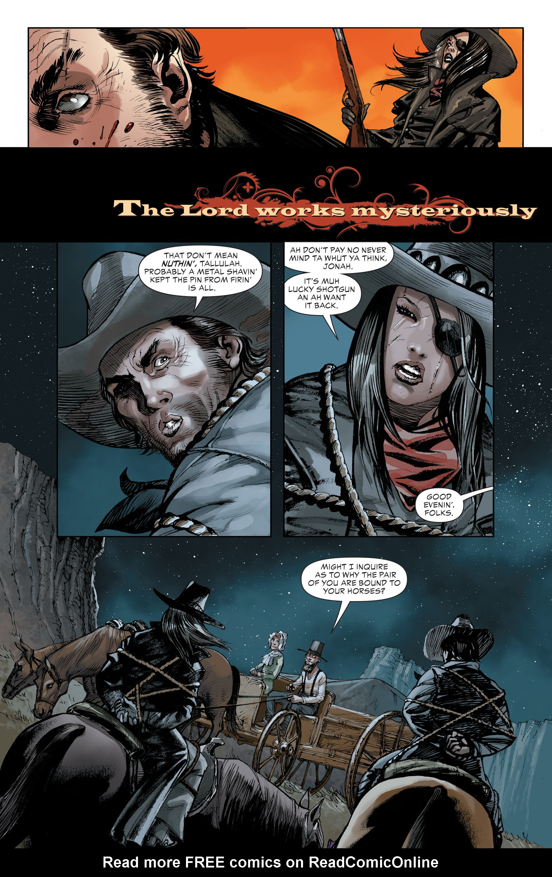 Read online All-Star Western (2011) comic -  Issue #32 - 18