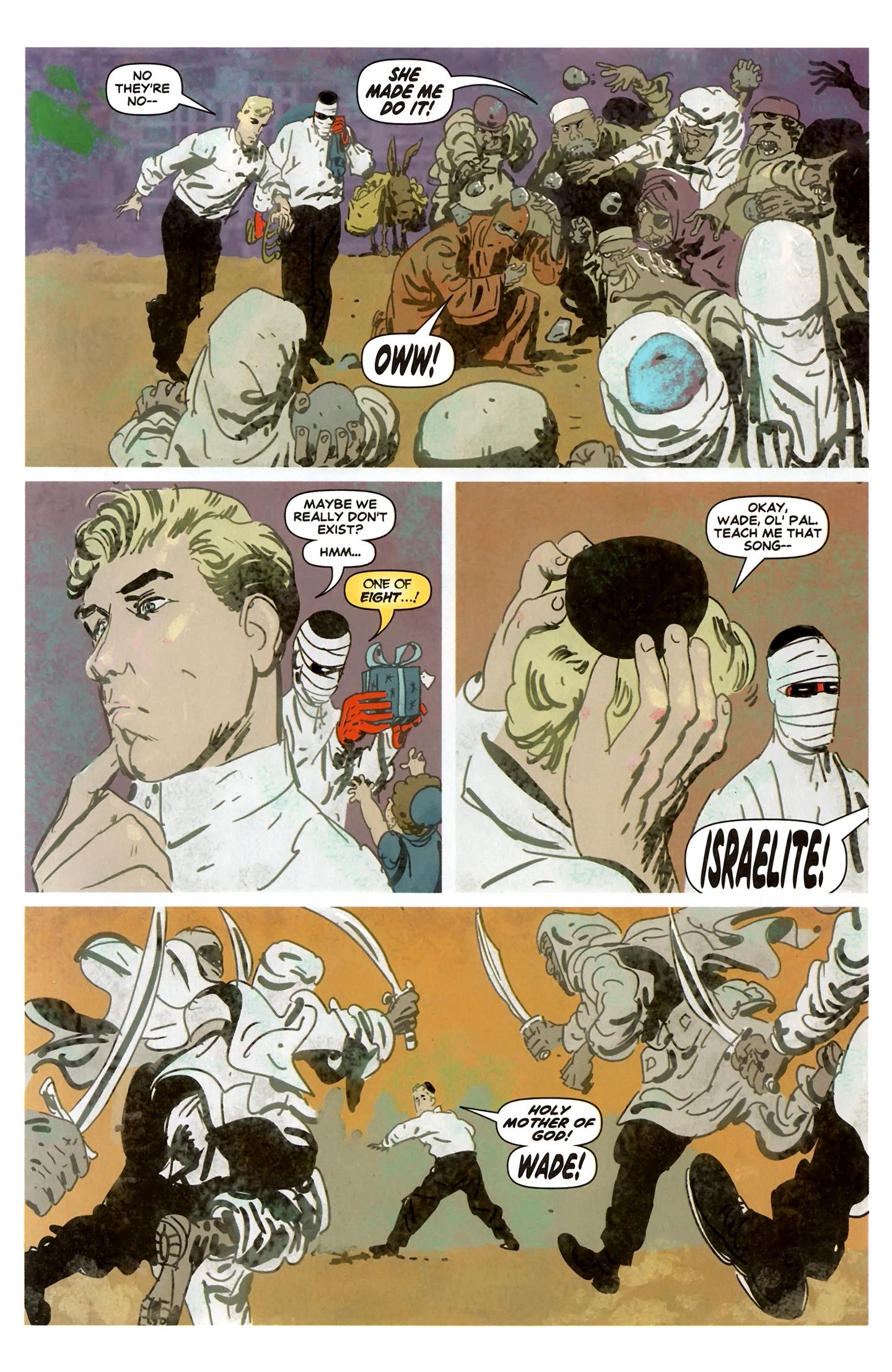 Read online Deadpool MAX X-Mas Special comic -  Issue # Full - 14