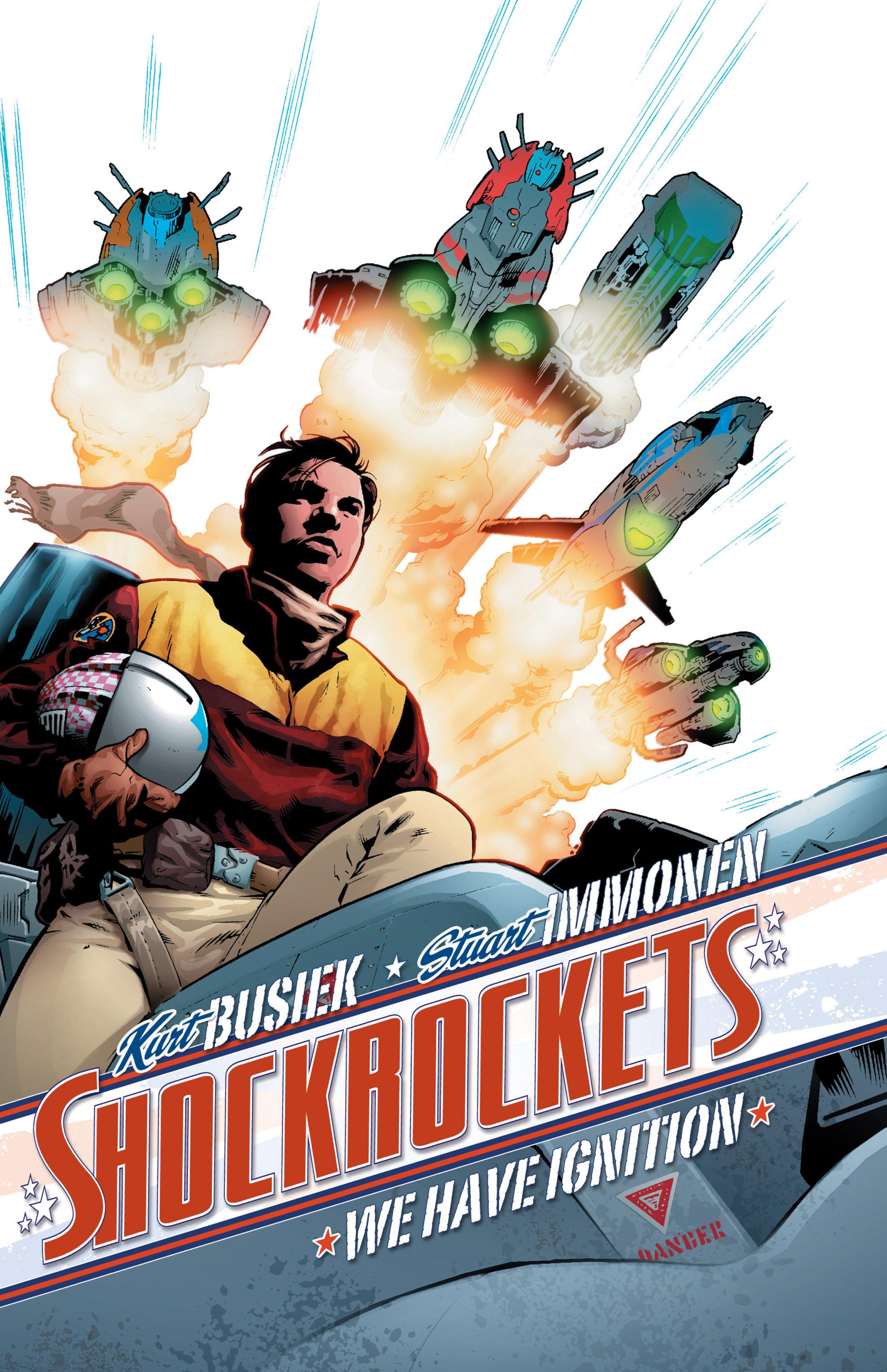 Read online Shockrockets comic -  Issue # TPB - 1
