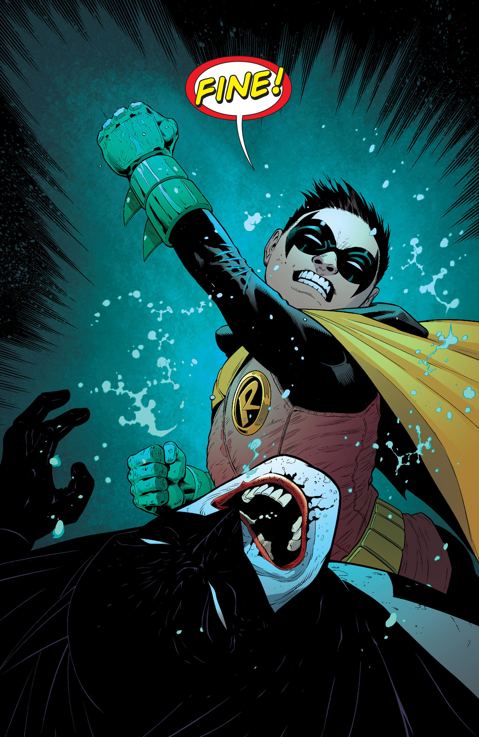 Read online Batman and Robin (2011) comic -  Issue #16 - 14