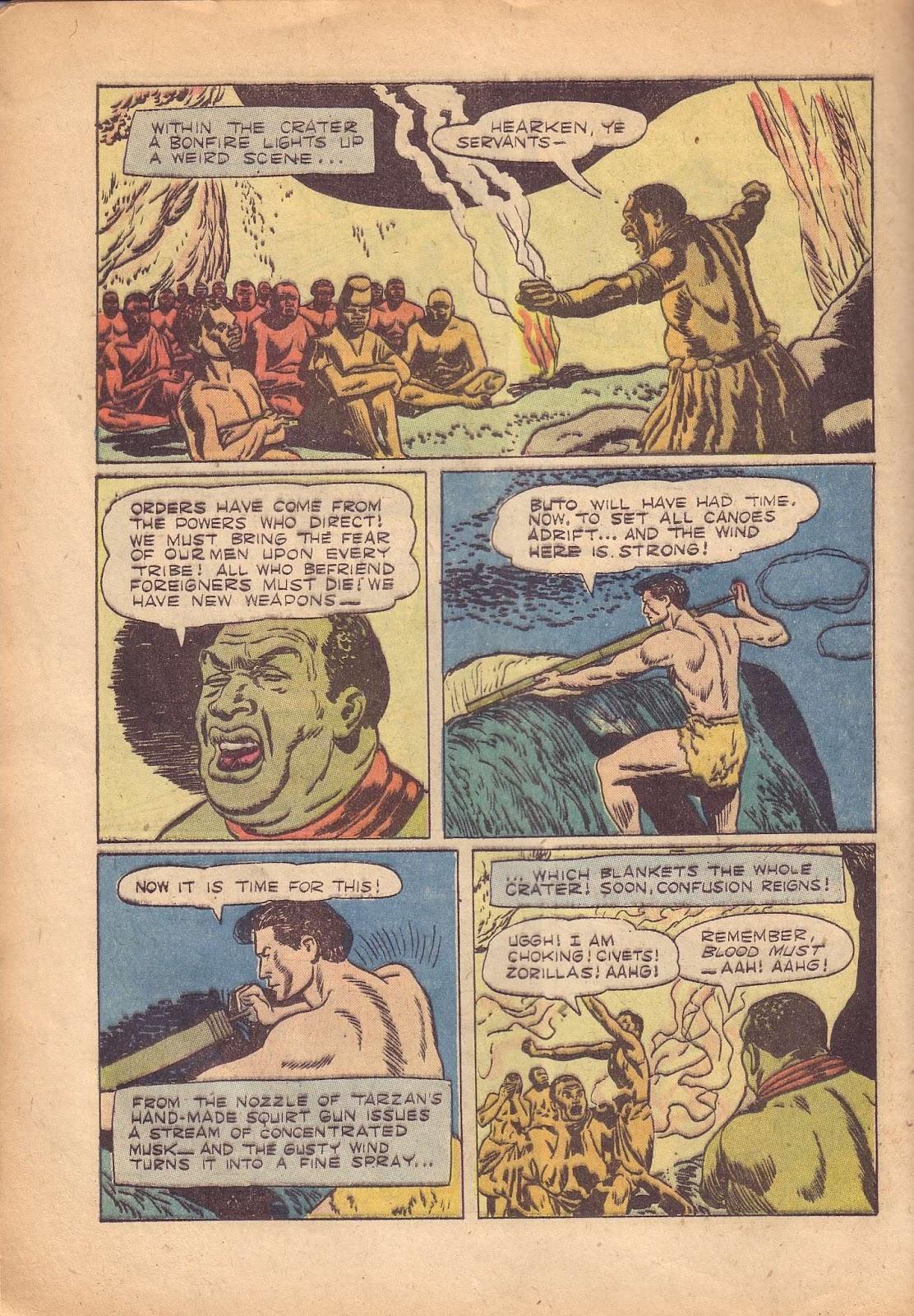 Tarzan (1948) issue 50 - Page 40