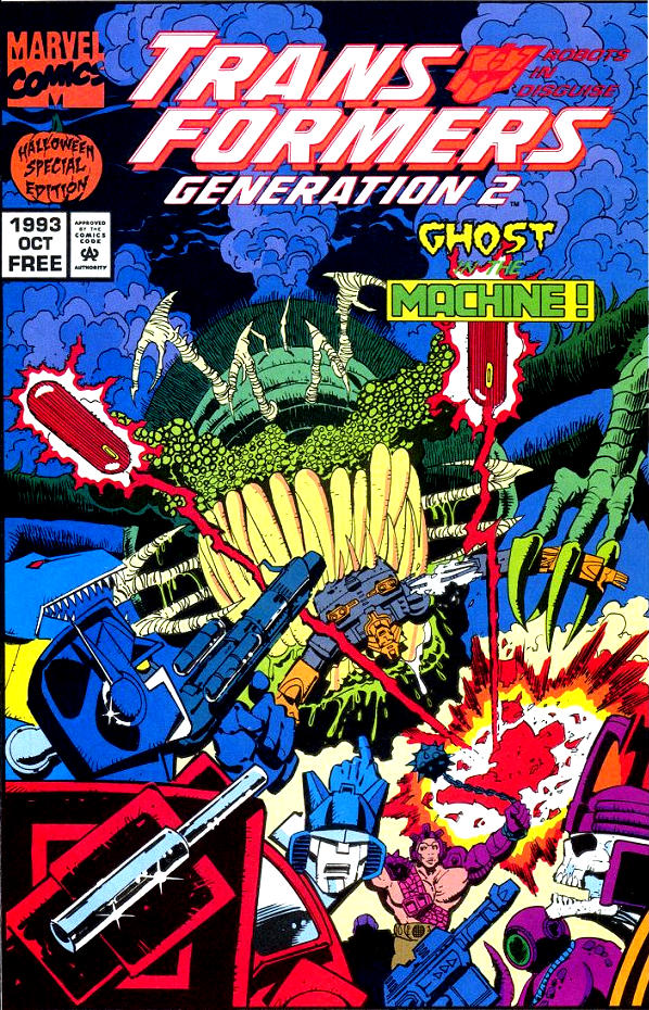 Read online Transformers: Generation 2 comic -  Issue #0 - 1