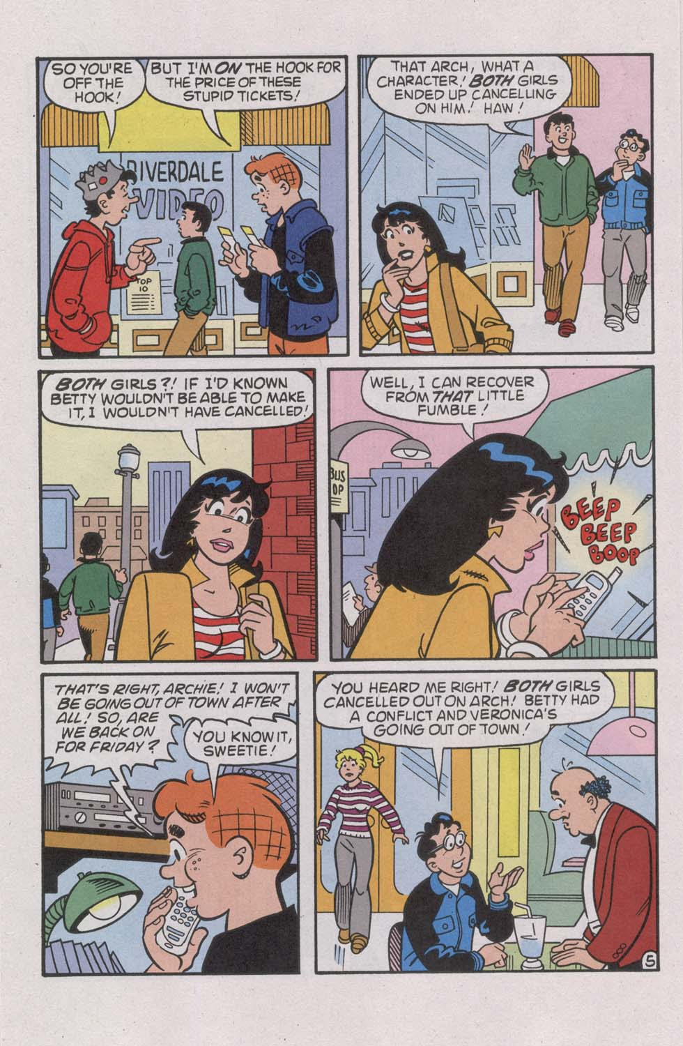 Read online Archie (1960) comic -  Issue #541 - 16