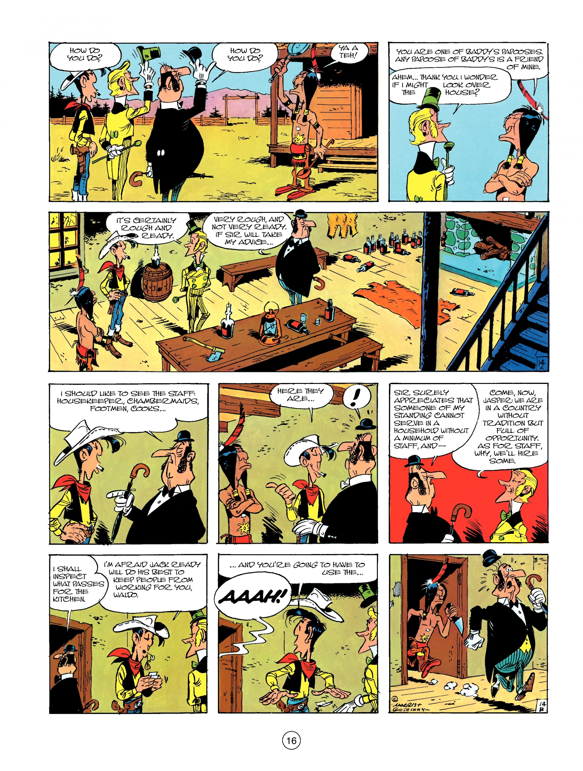 Read online A Lucky Luke Adventure comic -  Issue #13 - 16