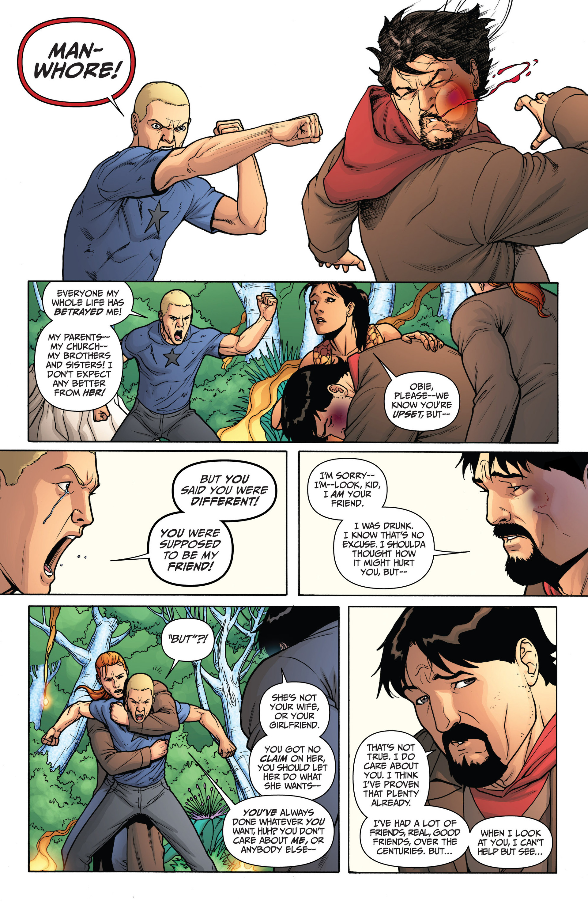 Read online Archer and Armstrong comic -  Issue #13 - 19