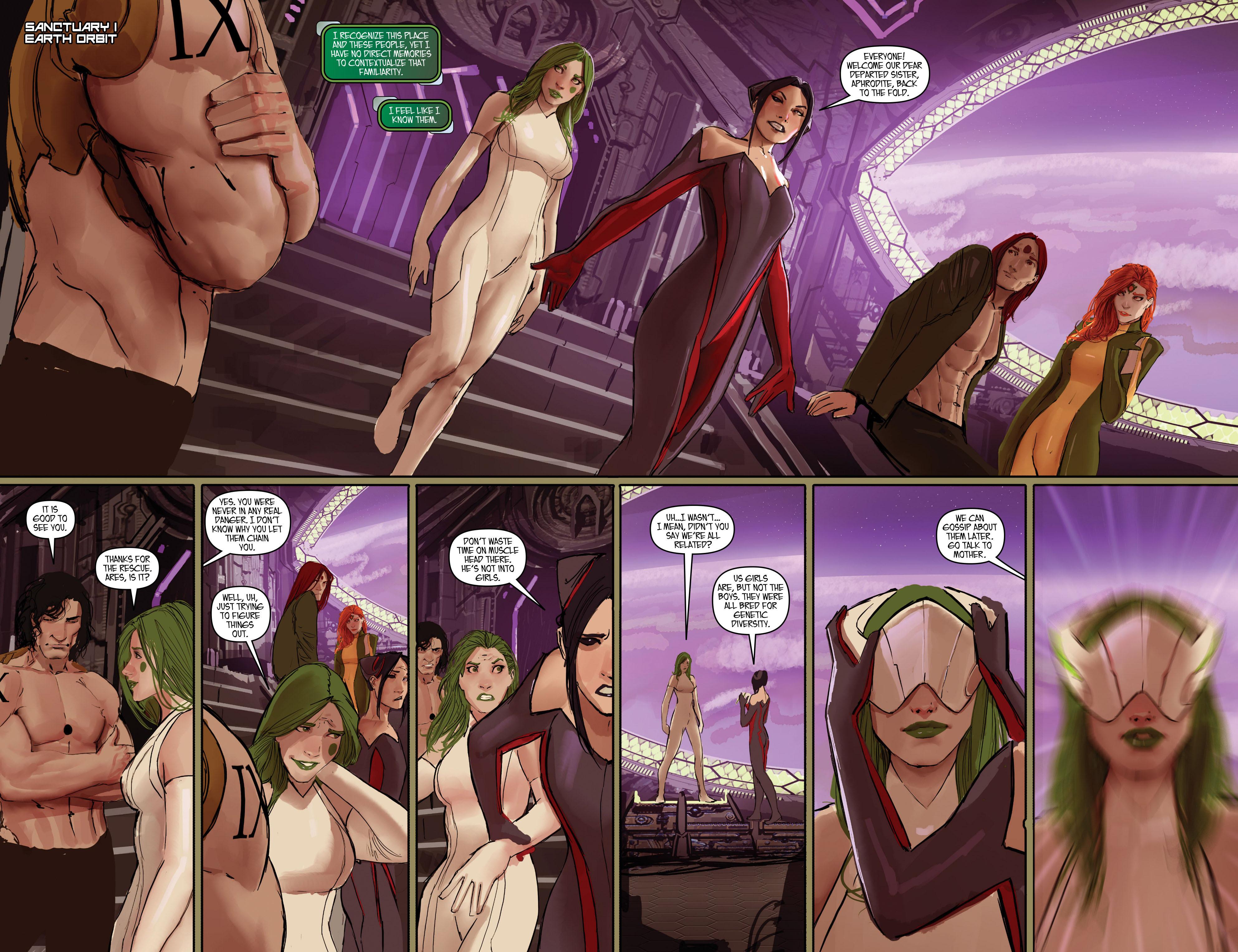 Read online Aphrodite IX (2013) comic -  Issue #Aphrodite IX (2013) _TPB 2 - 101
