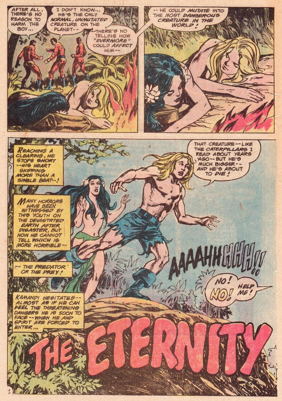 Kamandi, The Last Boy On Earth issue 54 - Page 4