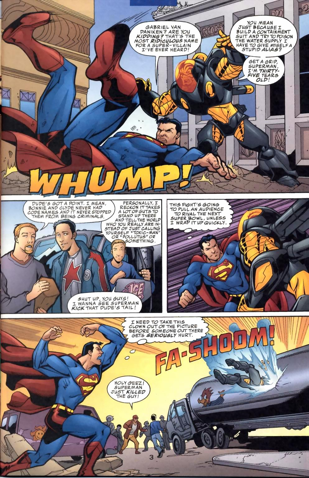Read online Adventures of Superman (1987) comic -  Issue #574 - 4