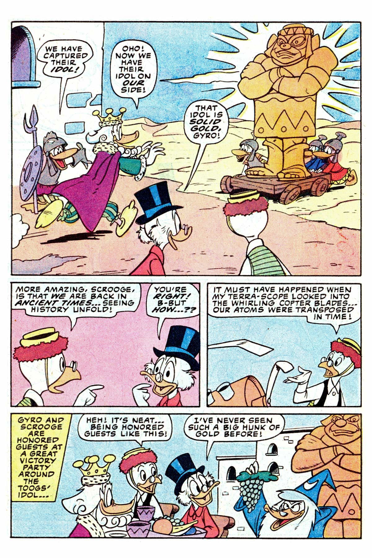 Read online Uncle Scrooge (1953) comic -  Issue #202 - 7