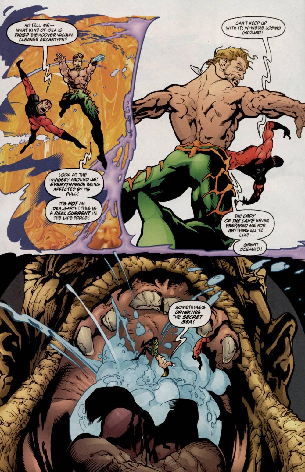 Read online Aquaman (2003) comic -  Issue #5 - 15