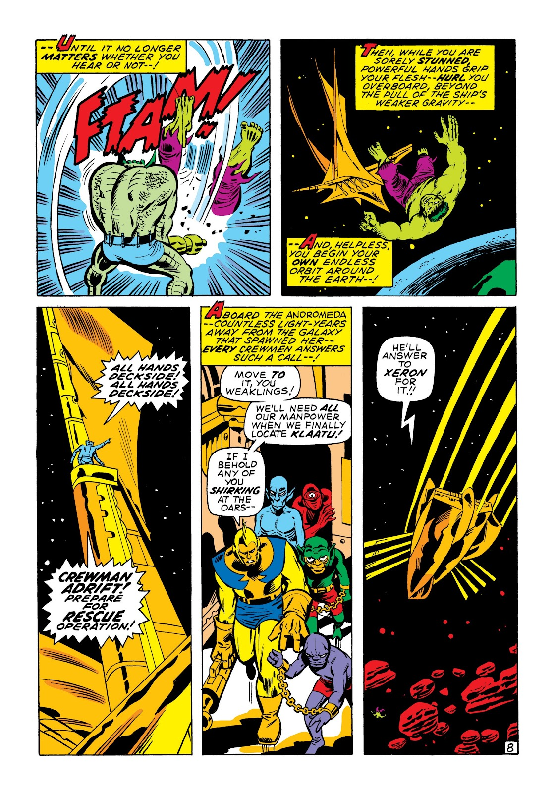 Read online Marvel Masterworks: The Incredible Hulk comic -  Issue # TPB 7 (Part 1) - 55